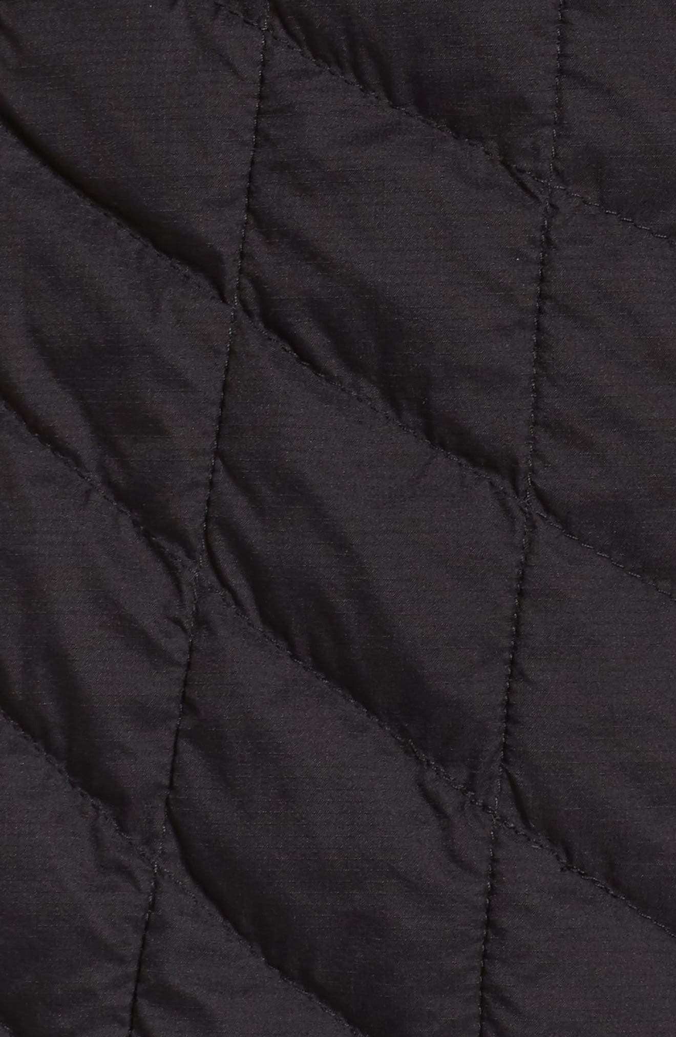 ThermoBall<sup>™</sup> Full Zip Jacket,                             Alternate thumbnail 7, color,                             Black Matte