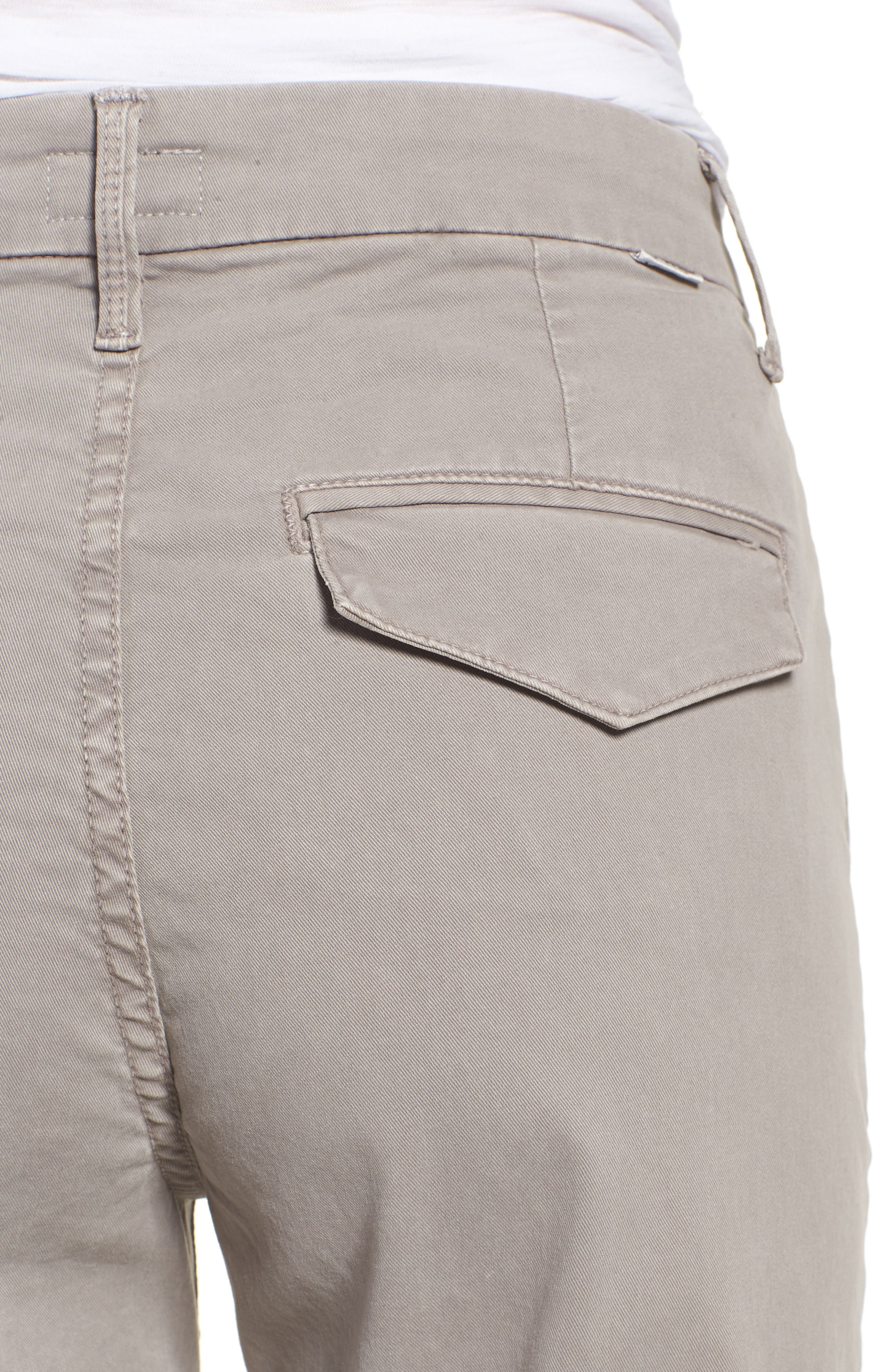 The Tomcat Prep Crop Twill Pants,                             Alternate thumbnail 4, color,                             Cement