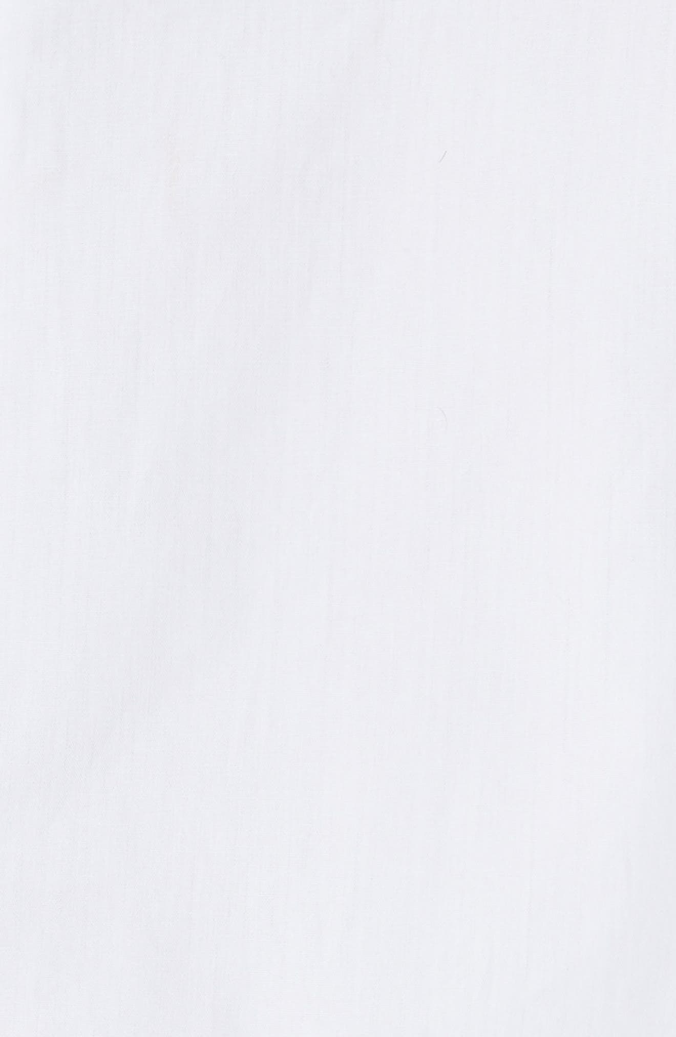 Emmeline Frill Sleeve Top,                             Alternate thumbnail 5, color,                             White