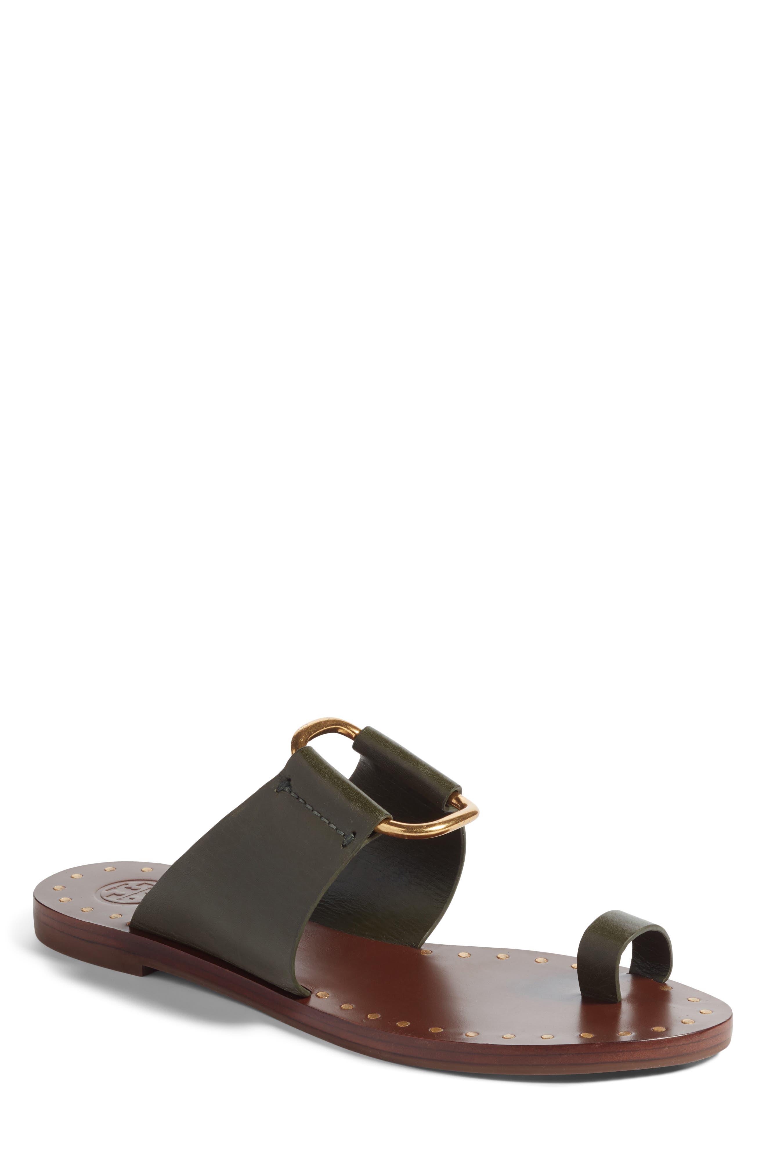 Tory Burch Brannan Studded Sandal (Women)