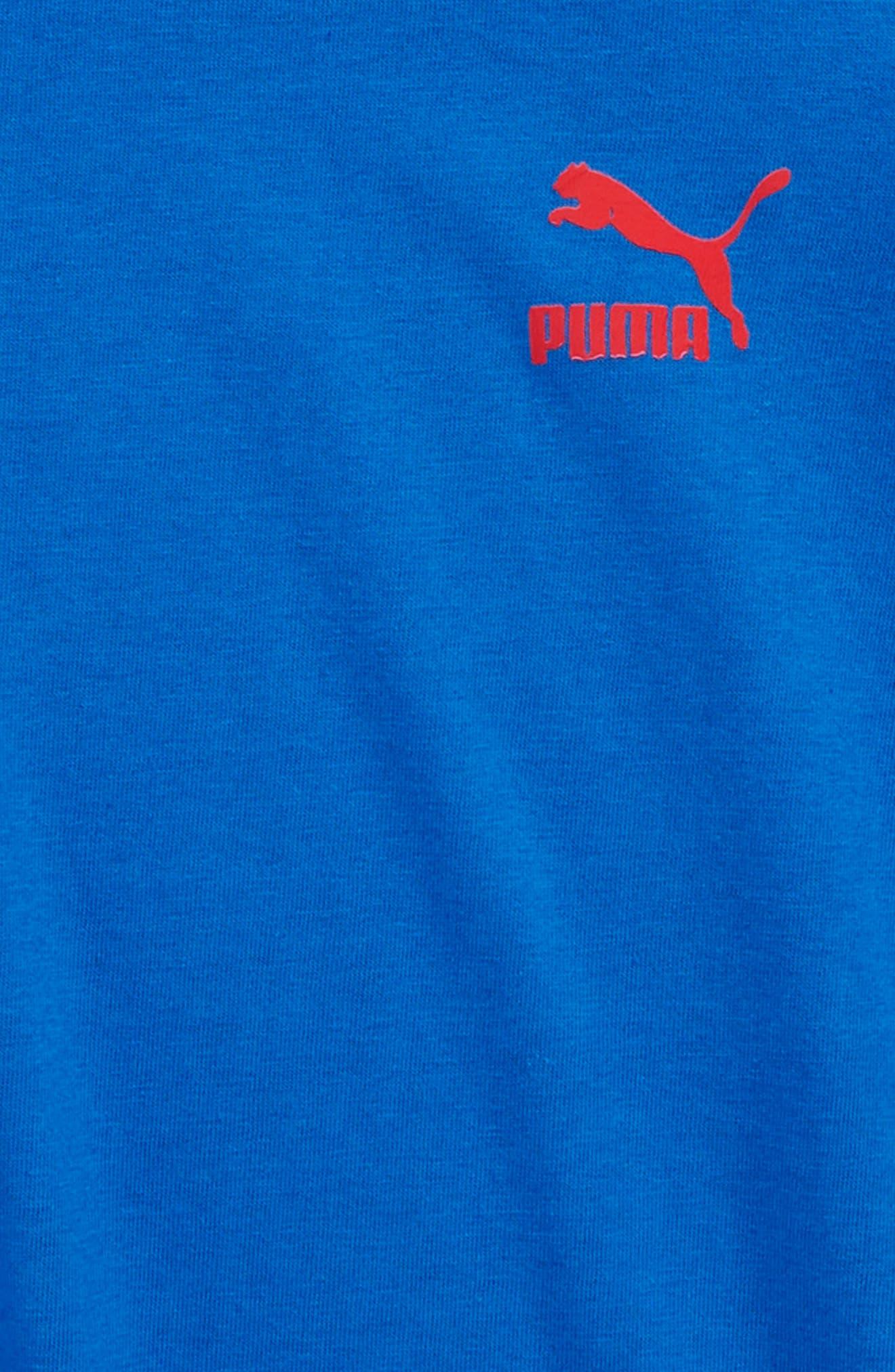 Logo Graphic T-Shirt,                             Alternate thumbnail 2, color,                             Turkish Sea