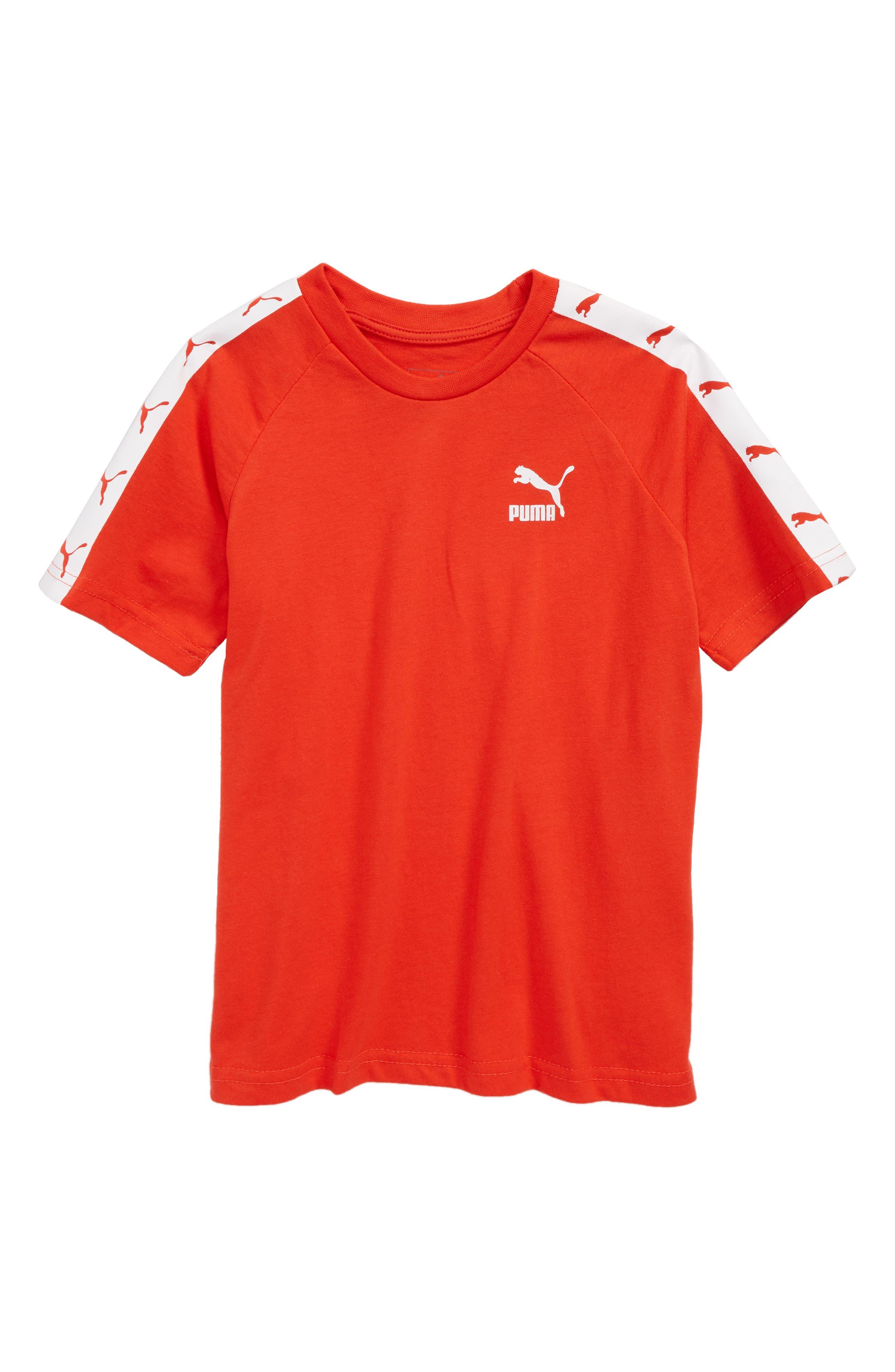 Alternate Image 1 Selected - PUMA Logo T-Shirt (Big Boys)