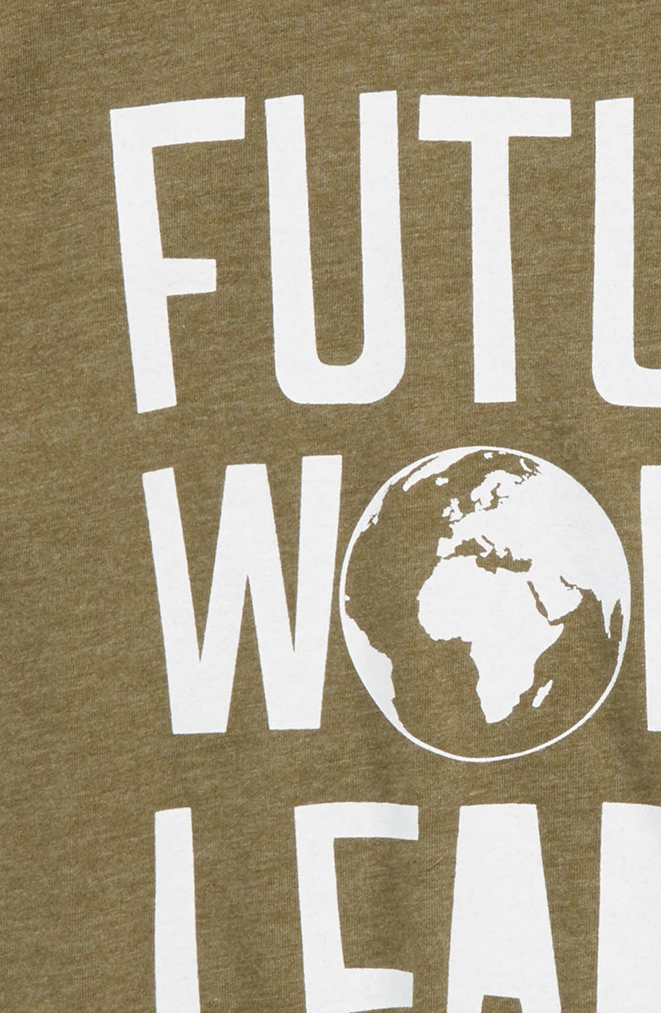 Future World Leader T-Shirt,                             Alternate thumbnail 2, color,                             Military