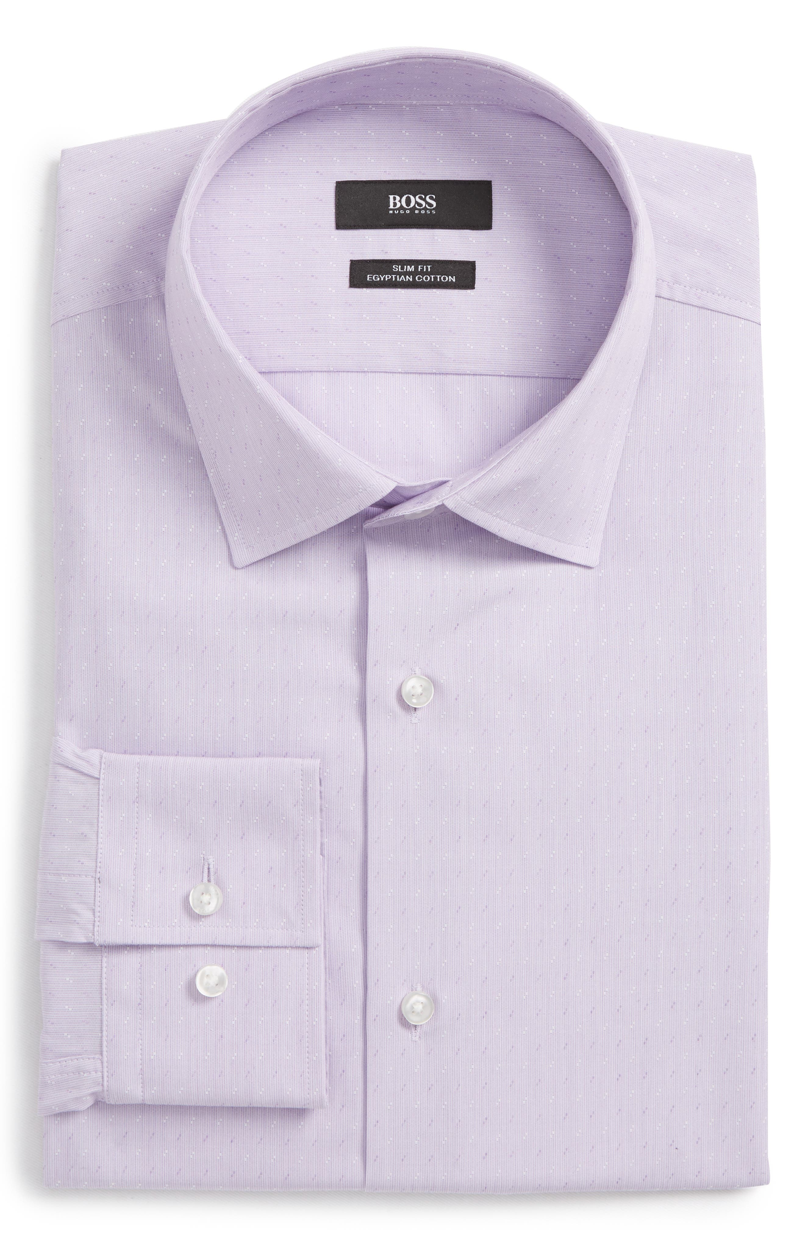 BOSS Jenno Slim Fit Dress Shirt