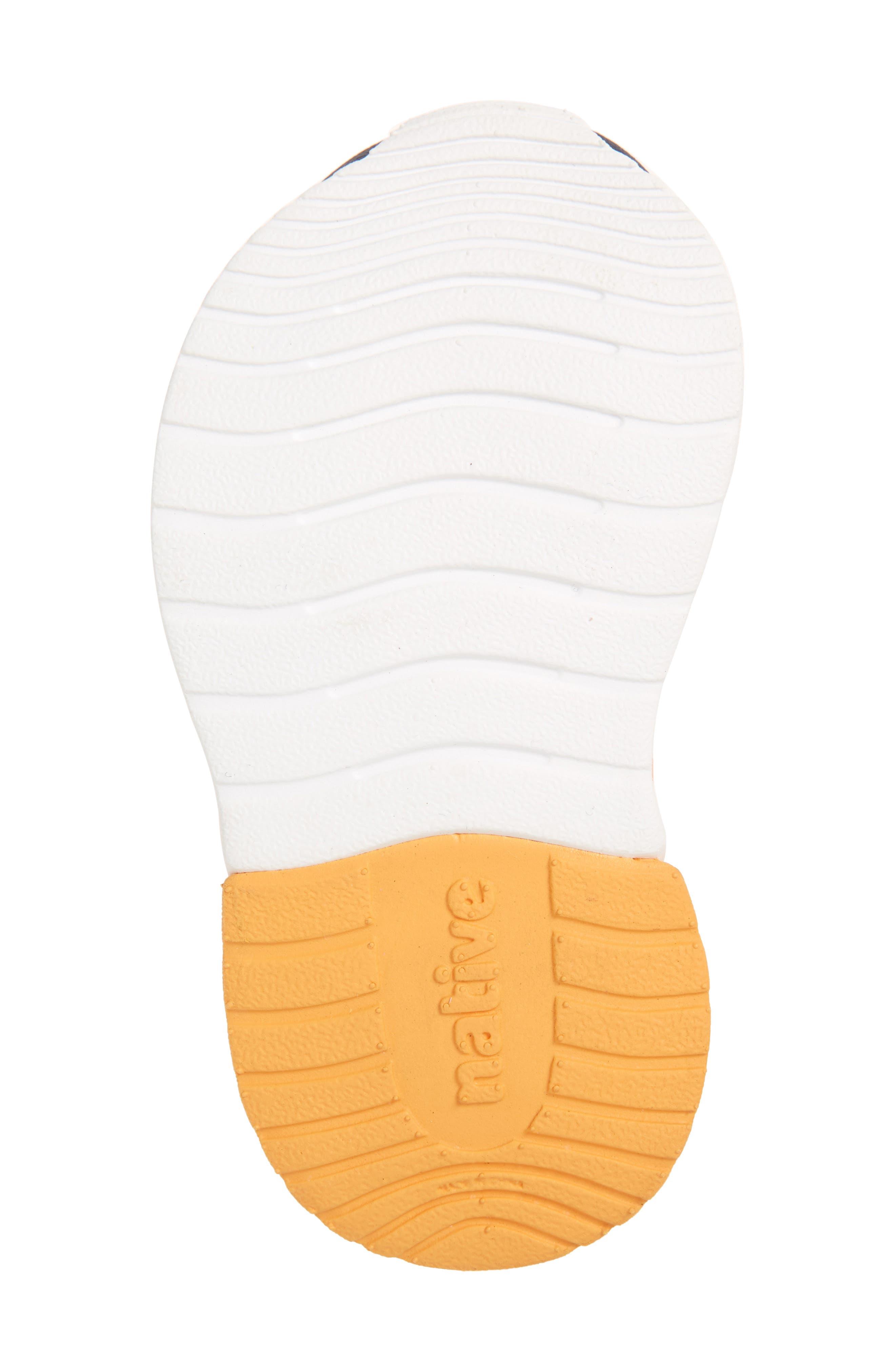 Lennox Block Slip-On Sneaker,                             Alternate thumbnail 6, color,                             Sunset Orange/ White/ Blue