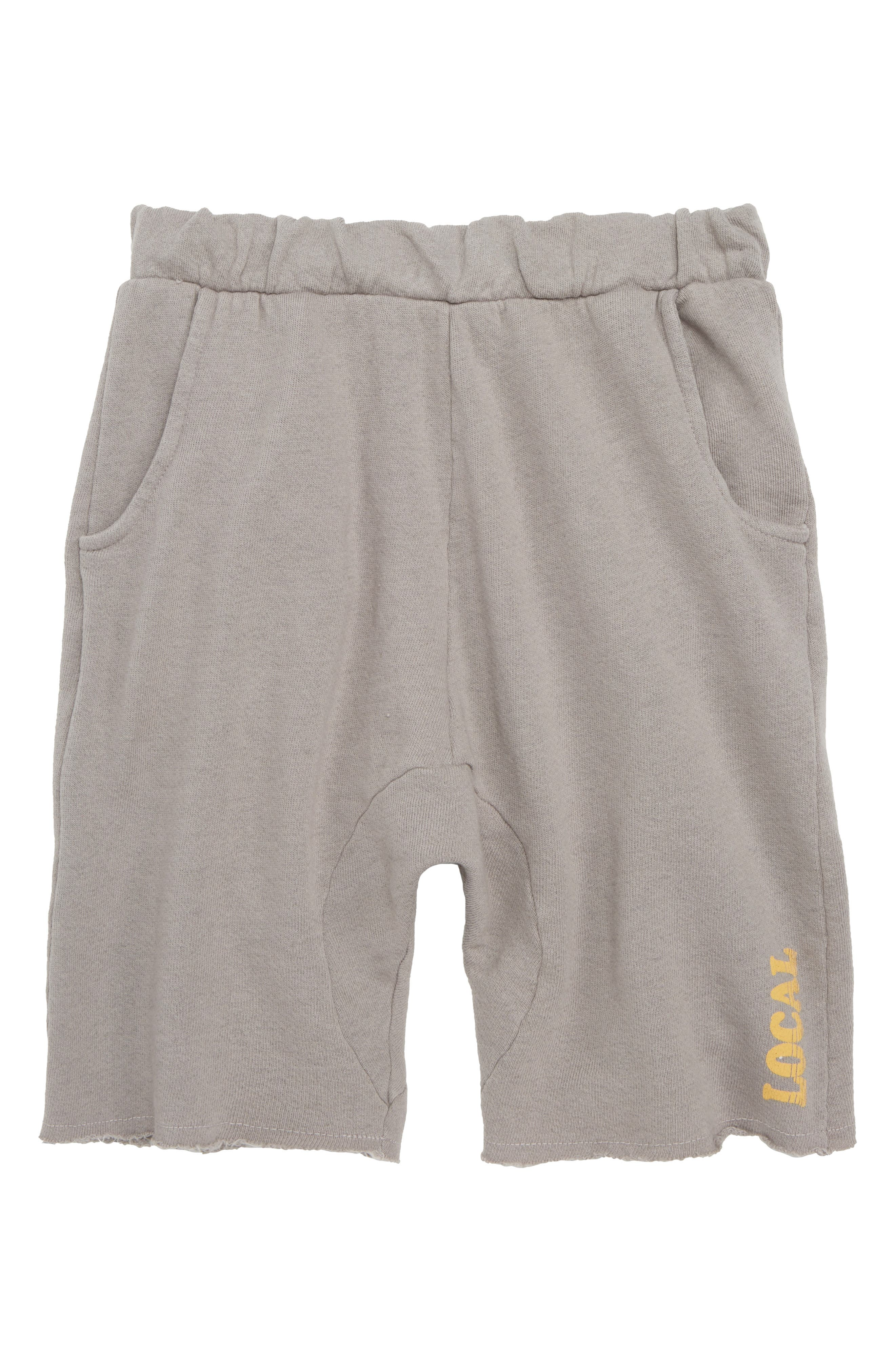 Cozy Time Shorts,                             Main thumbnail 1, color,                             Gray