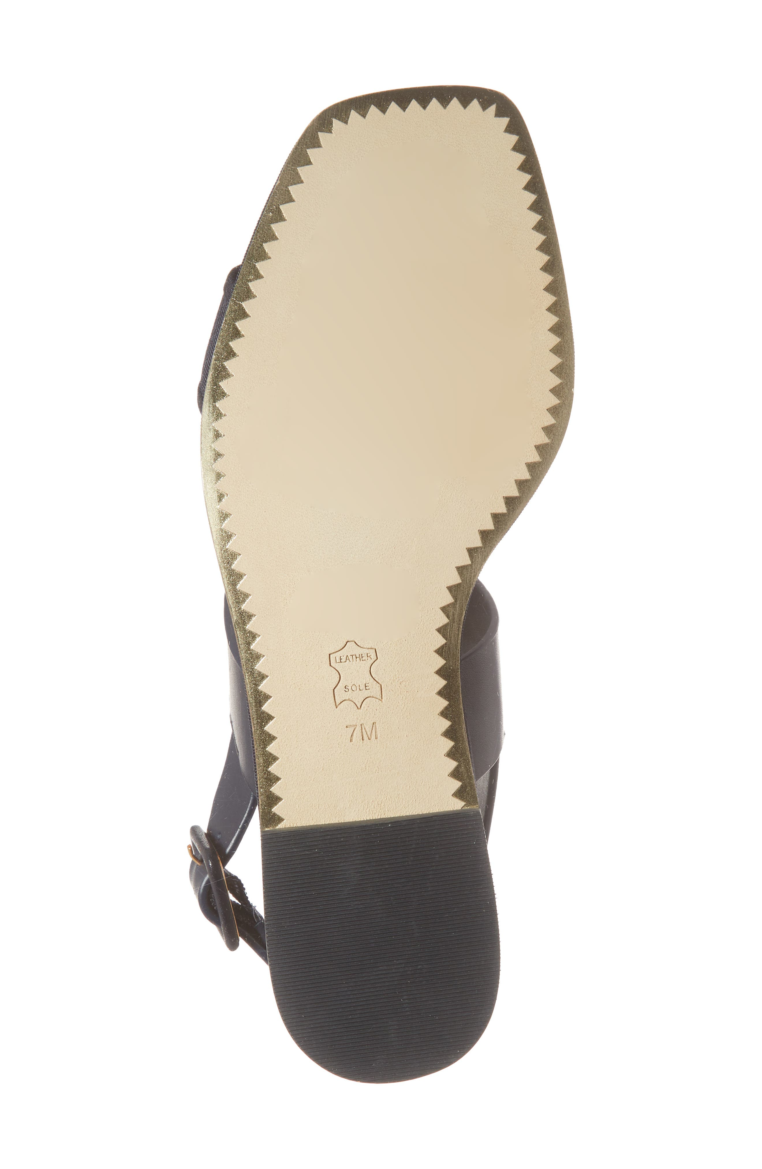 Delaney Embellished Double Strap Sandal,                             Alternate thumbnail 6, color,                             Perfect Navy/ Perfect Navy