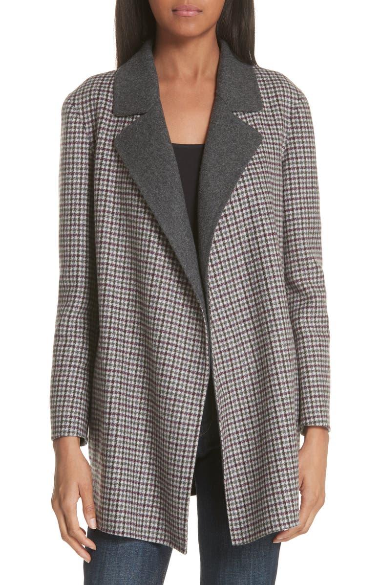 Clairene Plaid Coat