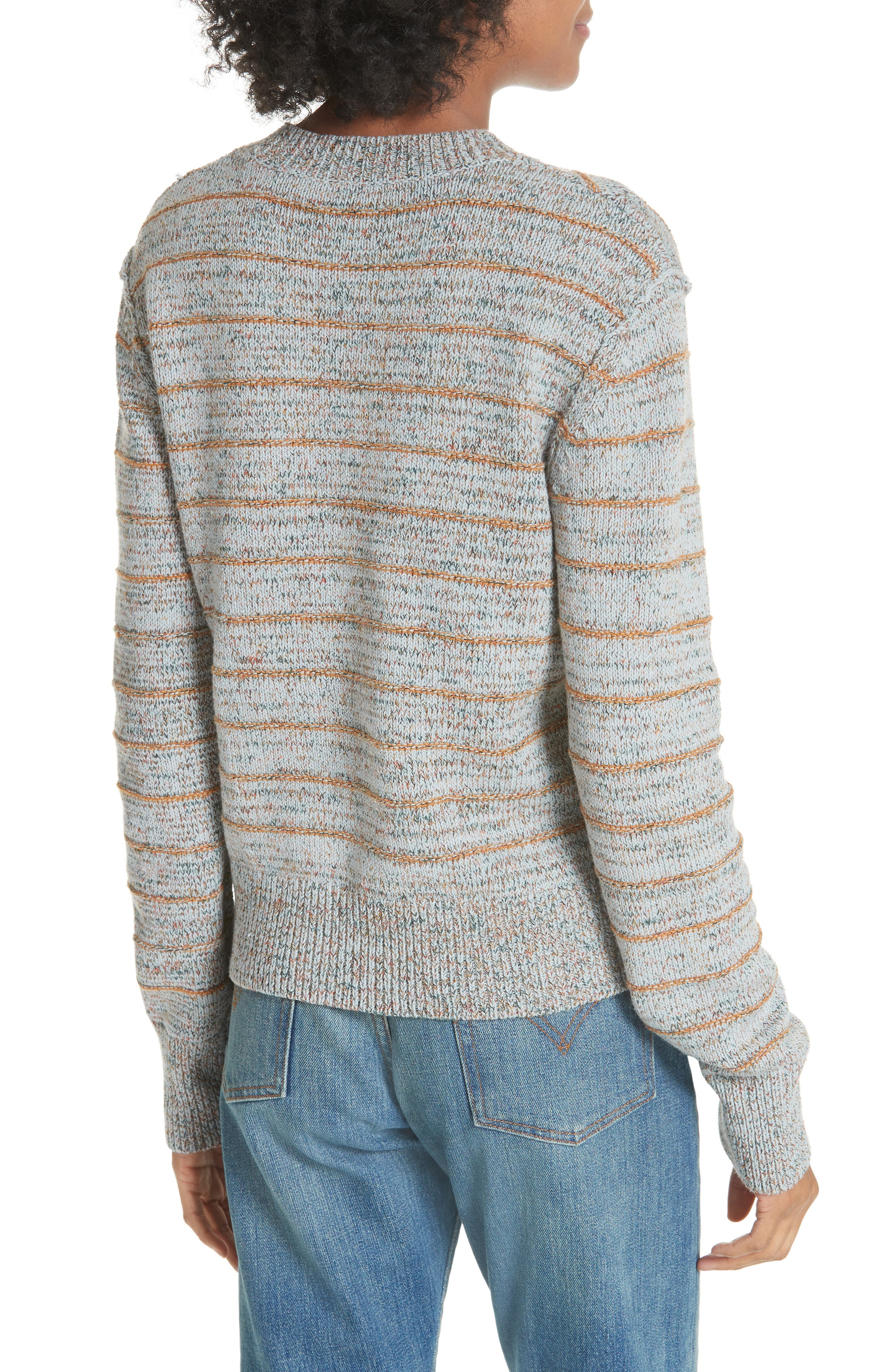 Alternate Image 2  - Free People Zigzag Pullover