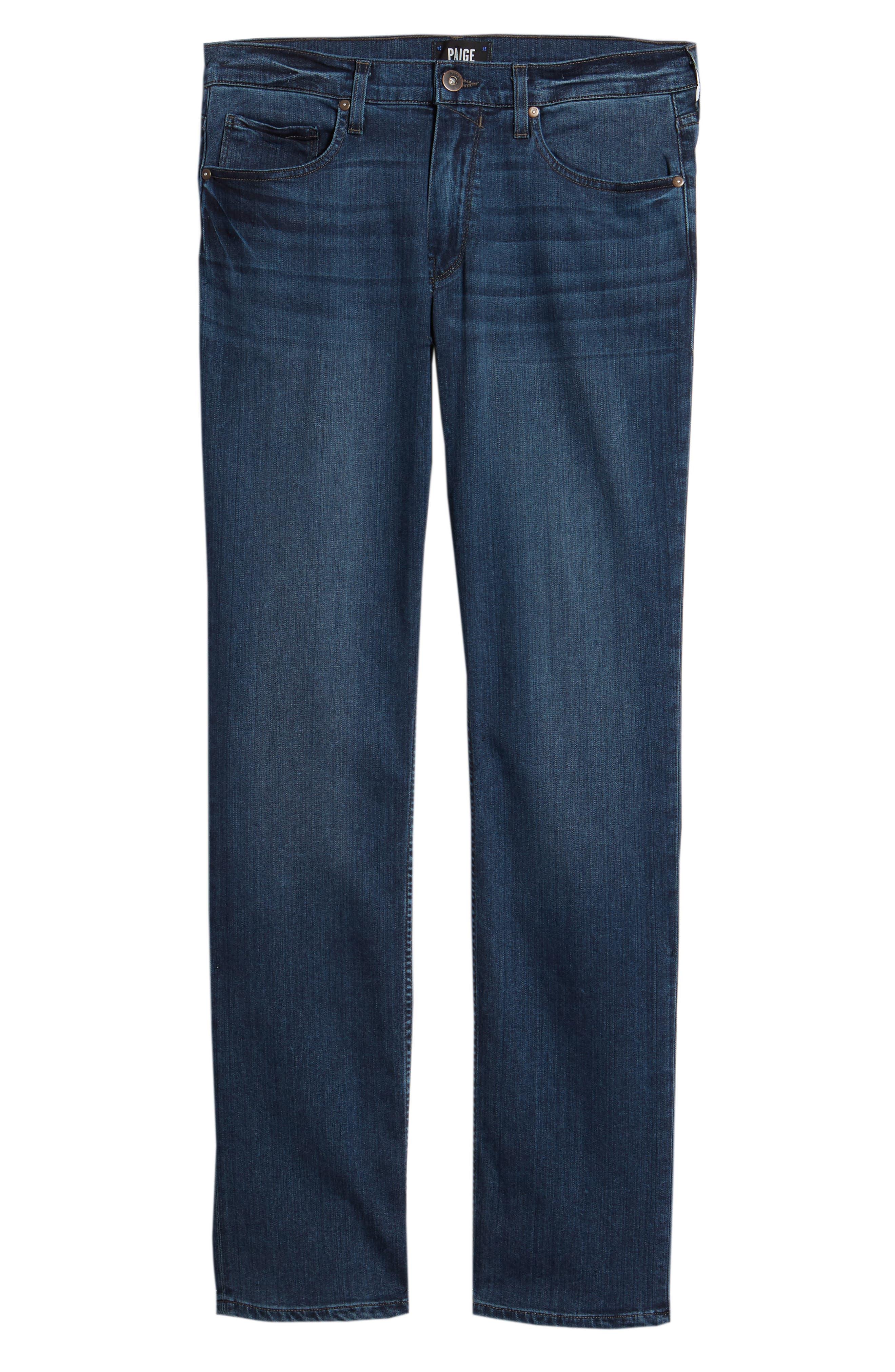 Normandie Straight Leg Jeans,                             Alternate thumbnail 6, color,                             Lowe