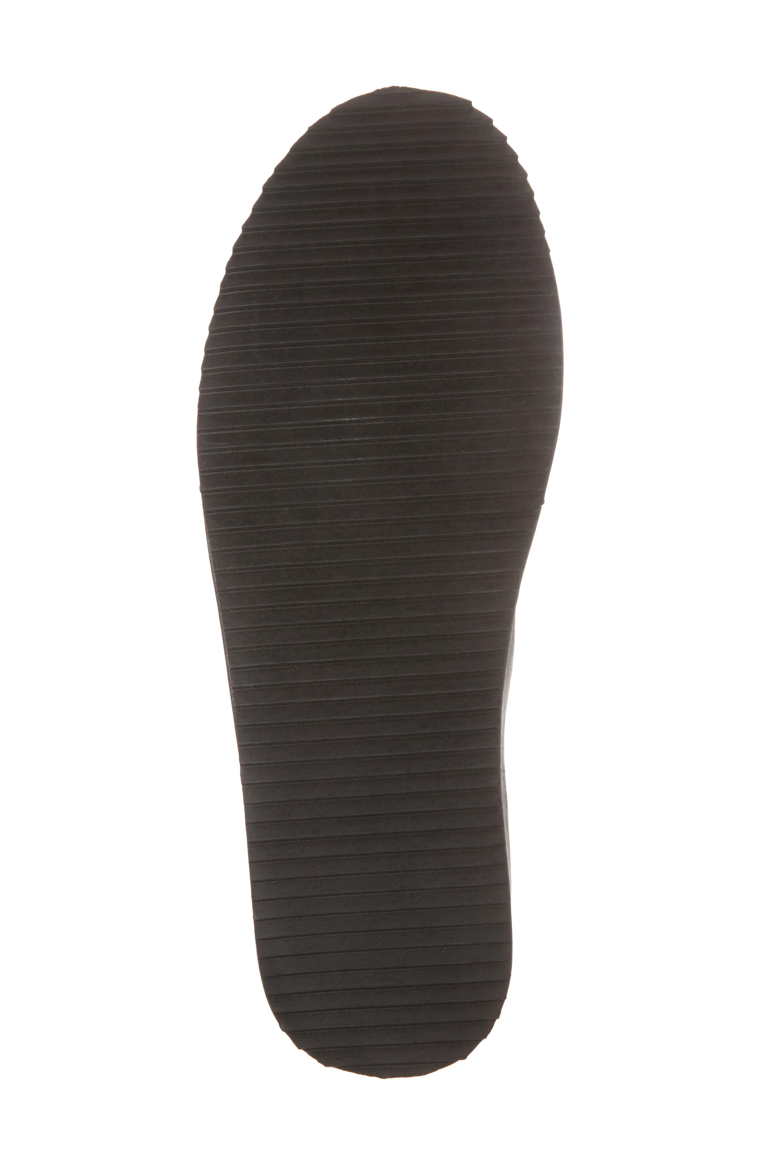 Core Neoprene Skater Laceless Sneaker,                             Alternate thumbnail 6, color,                             Black Neoprene Fabric