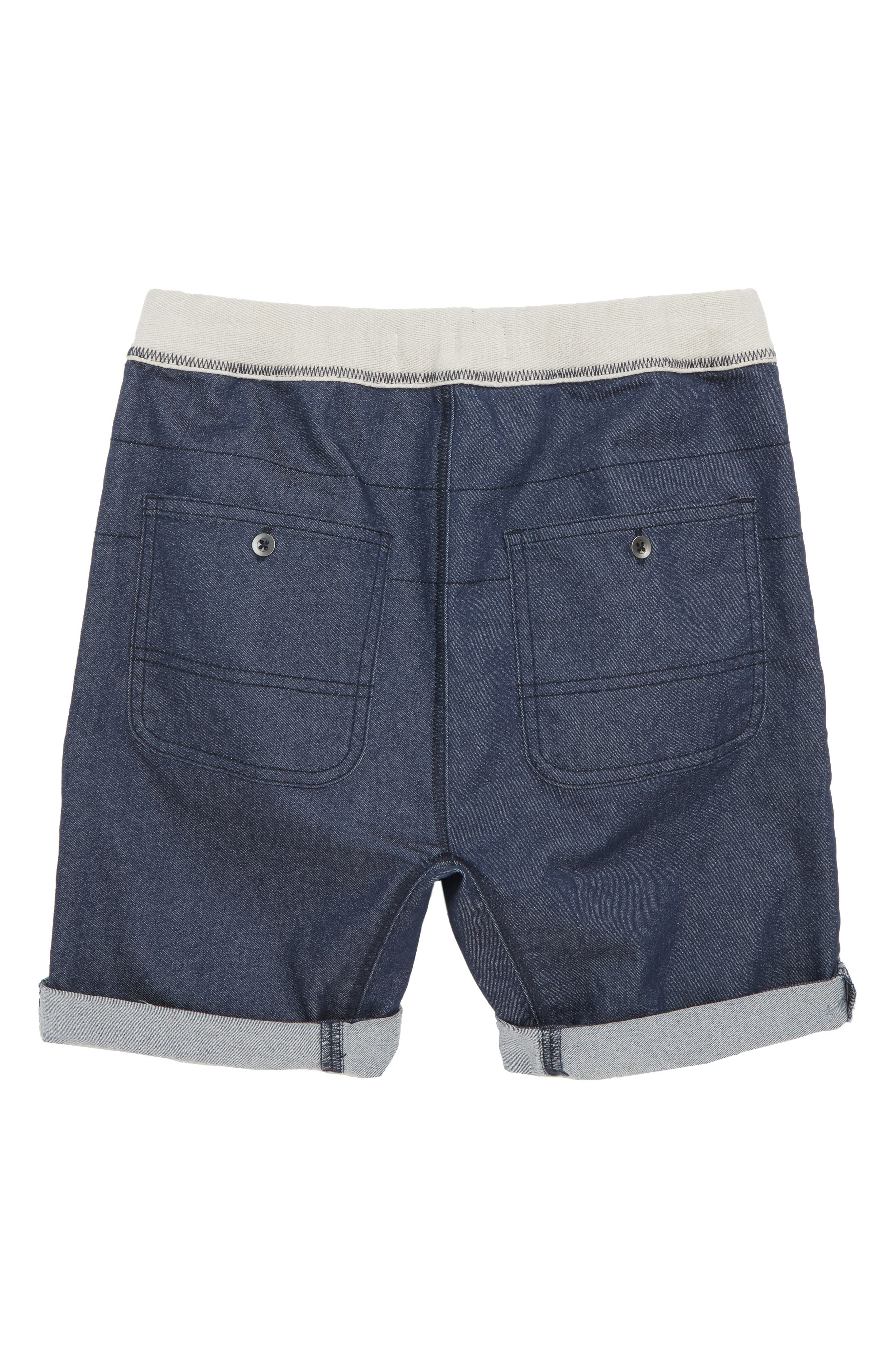 Twill Shorts,                             Alternate thumbnail 2, color,                             Navy Indigo