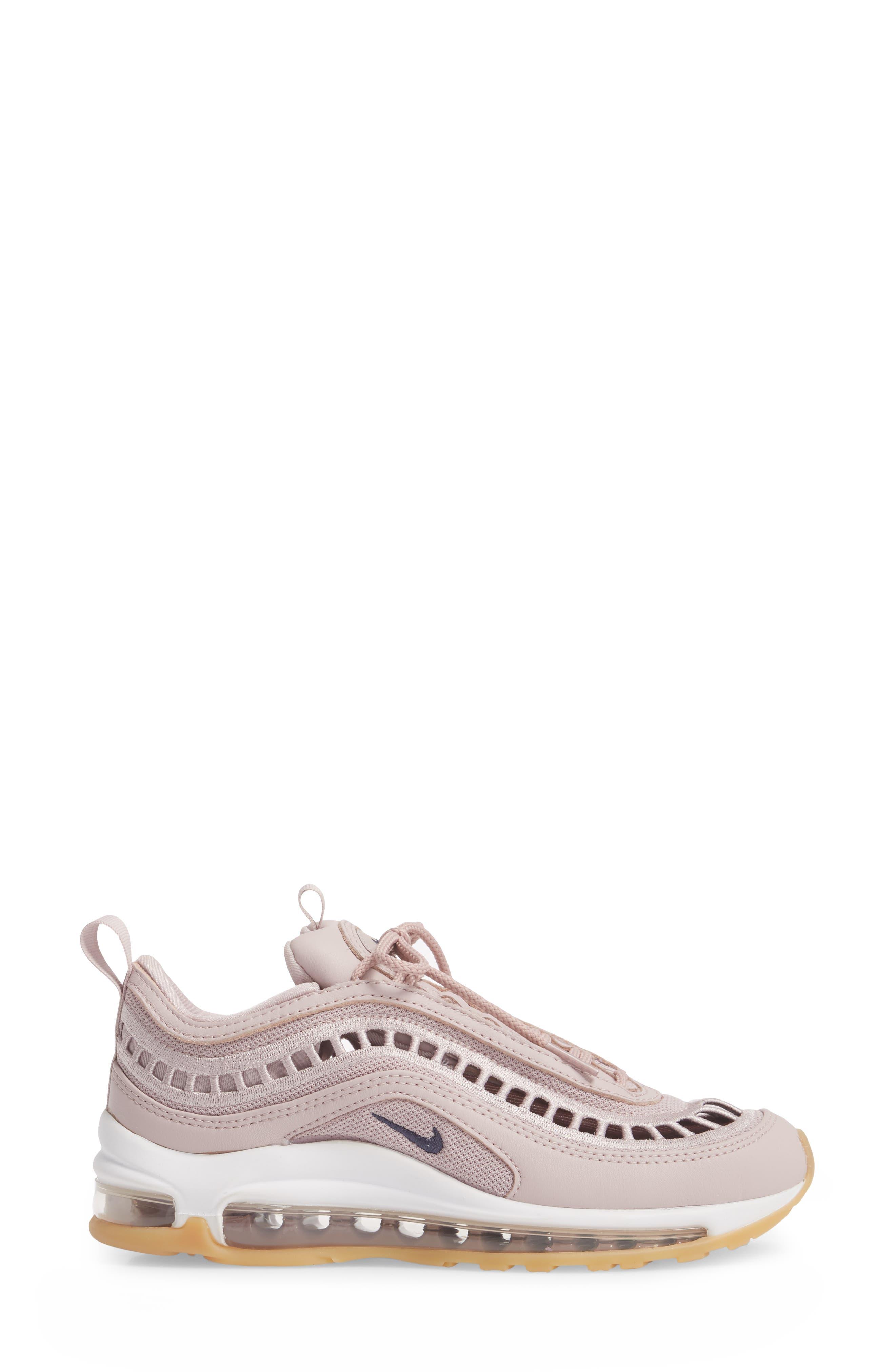 Air Max 97 Ultra '17 SI Sneaker,                             Alternate thumbnail 3, color,                             Particle Rose/ Neutral Indigo