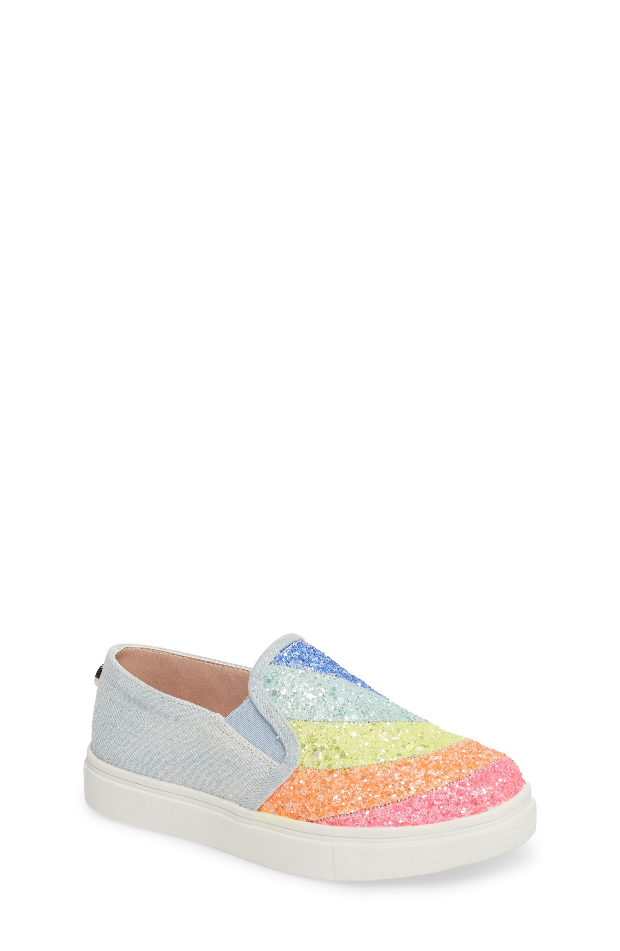 Steve Madden JWISH Rainbow Slip-On Sneaker (Little Kid & Big Kid)