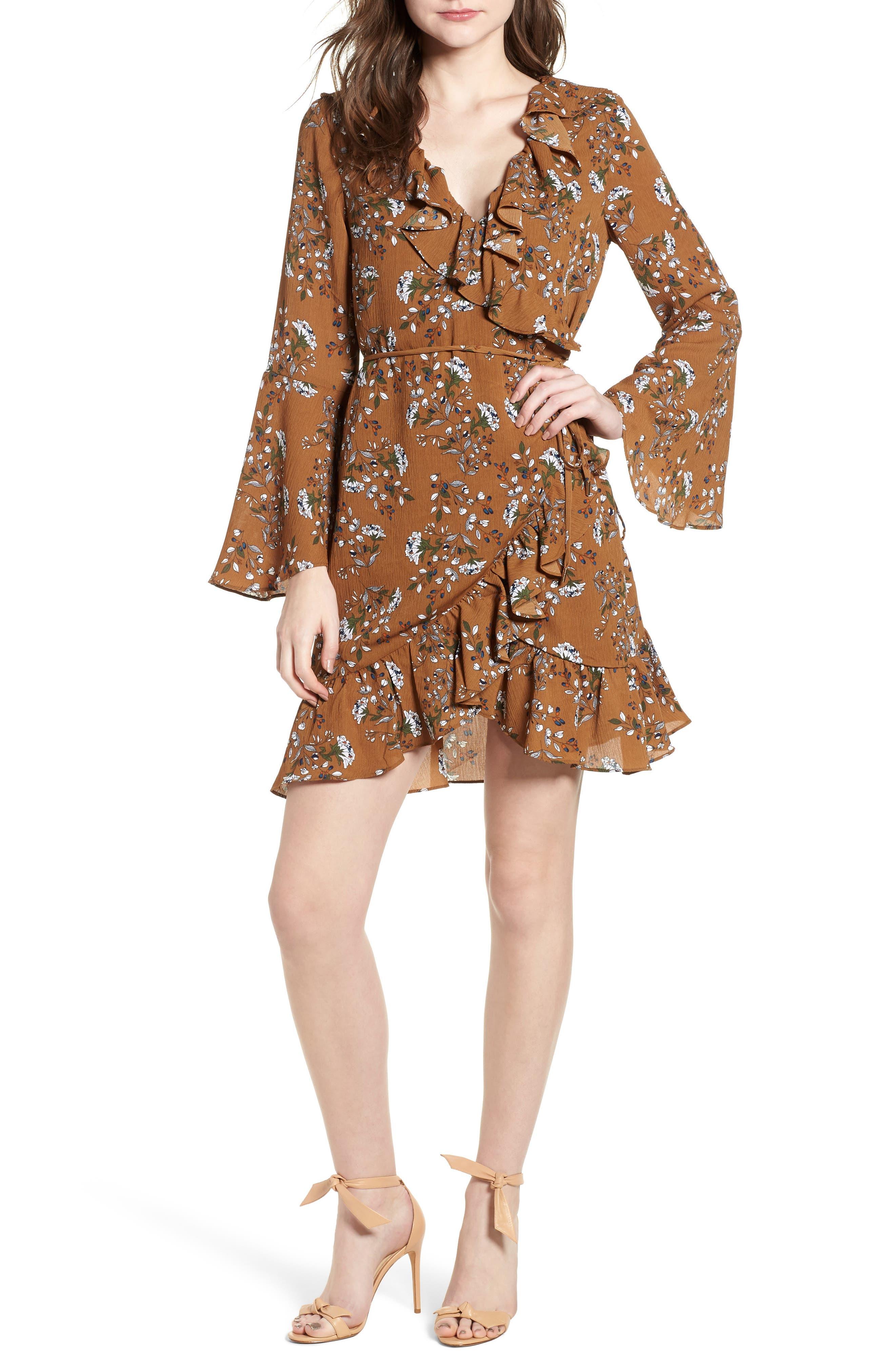 Melody Dress,                             Main thumbnail 1, color,                             Cocoa