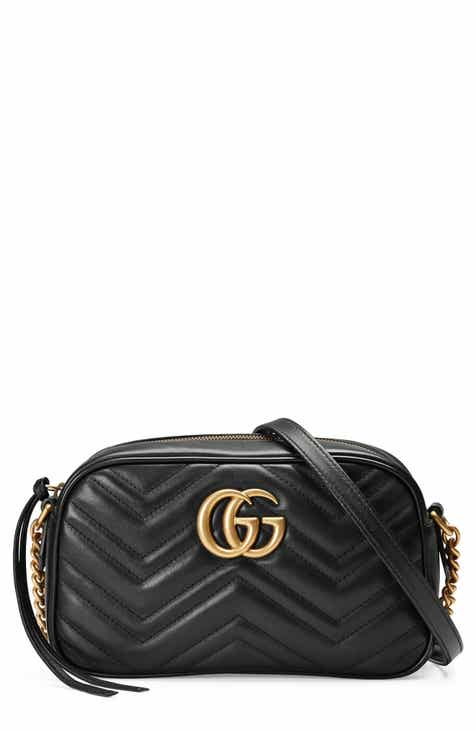 e9b6e2696f43 Gucci Small GG Marmont 2.0 Matelassé Leather Camera Bag