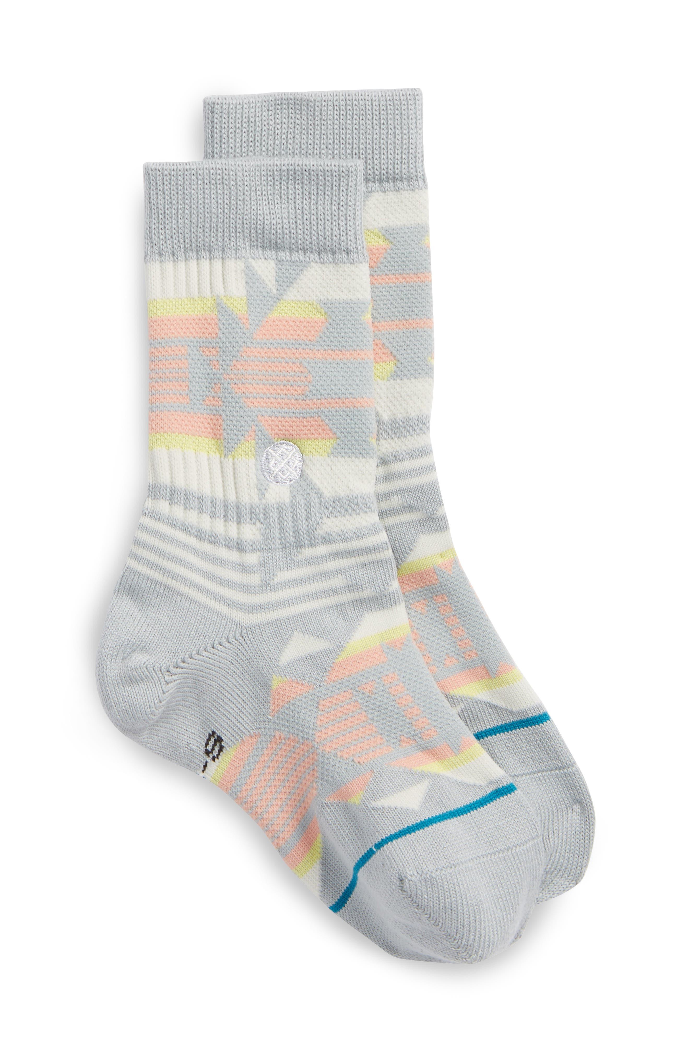 Fibbo Socks,                             Main thumbnail 1, color,                             Multi