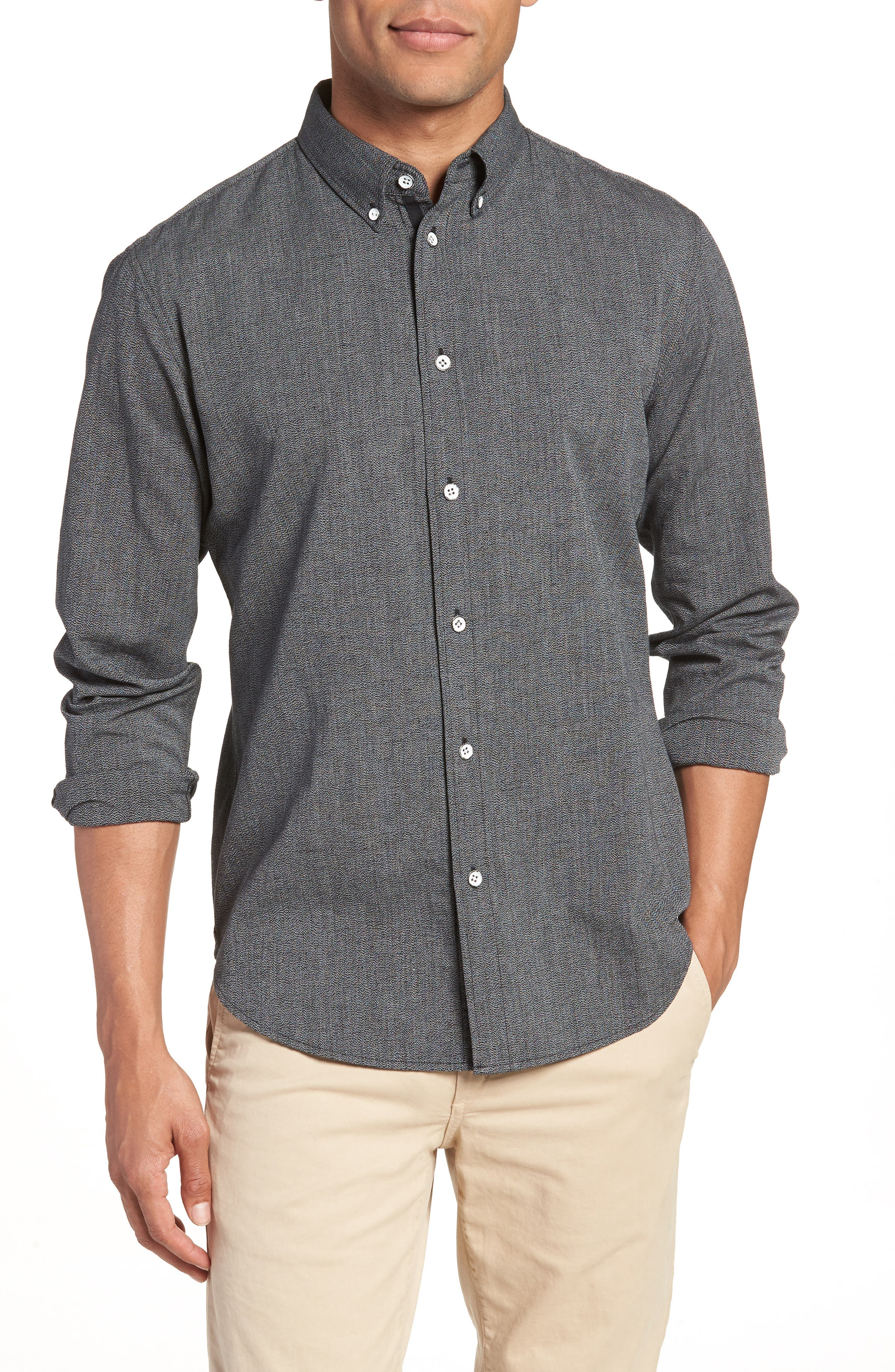 rag & bone Tomlin Slim Fit Sport Shirt