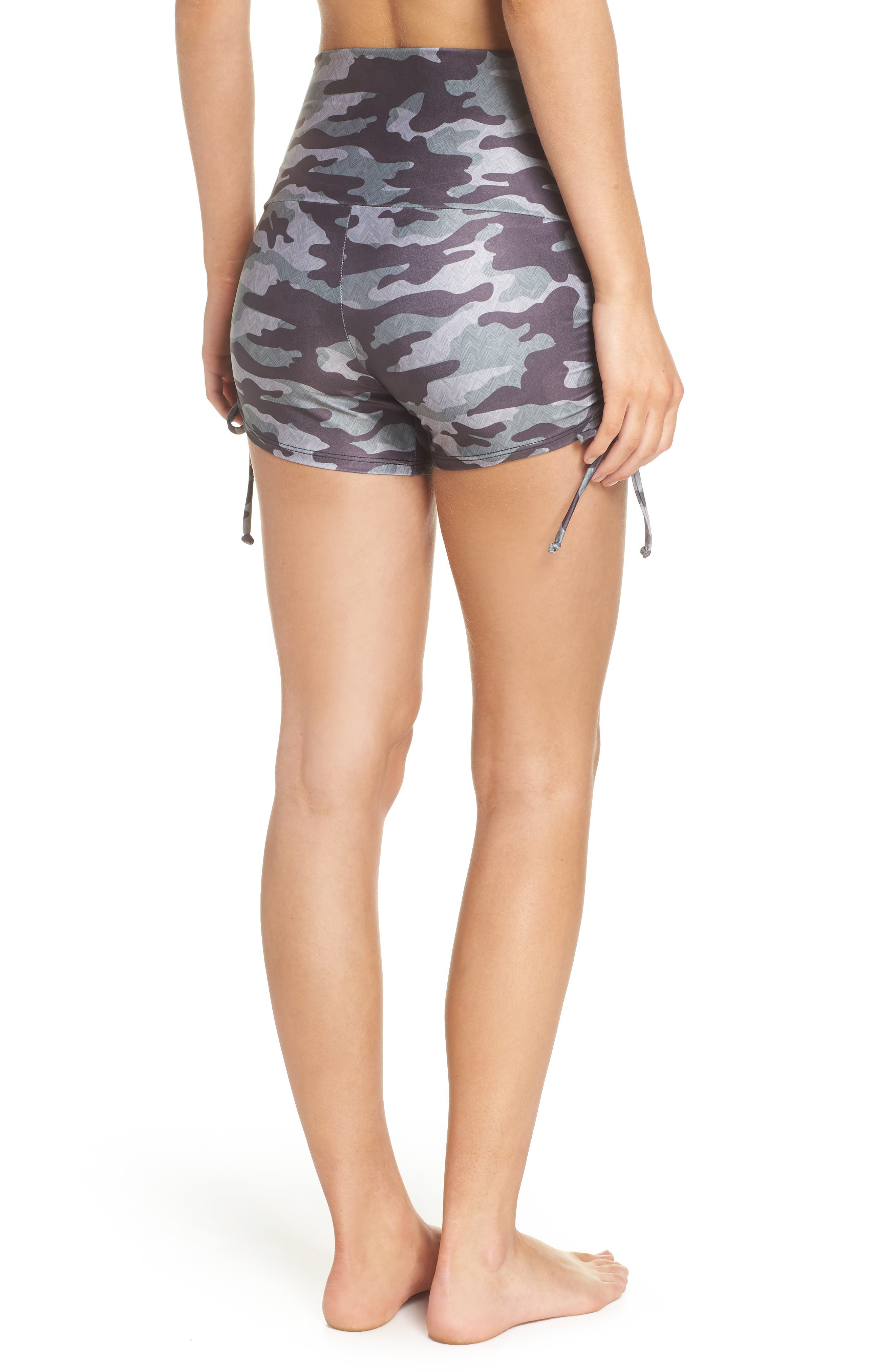 La Coqueta Swim Bottoms,                             Alternate thumbnail 2, color,                             Distressed Camo
