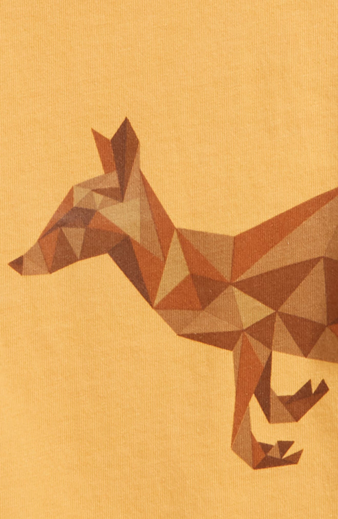 Alternate Image 2  - Peek Kangaroo Graphic T-Shirt (Baby Boys)