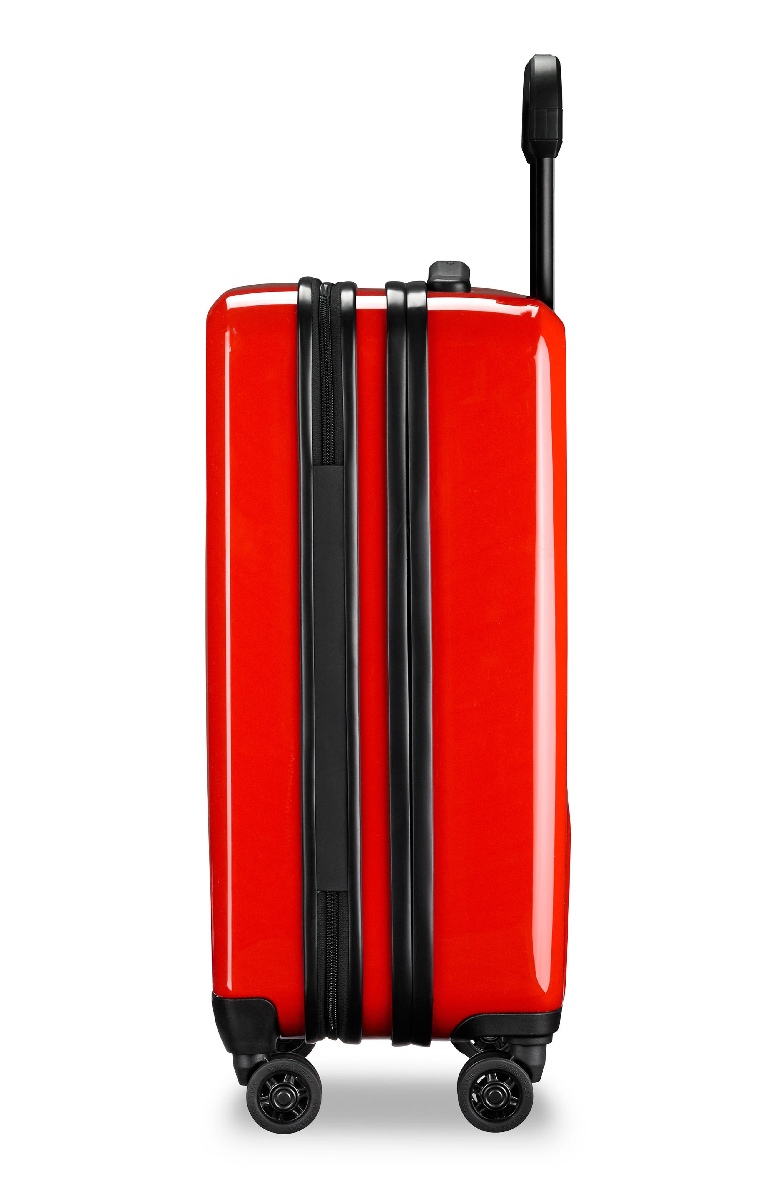 Domestic Expandable Spinner Wheeled Carry-On,                             Alternate thumbnail 8, color,                             Fire