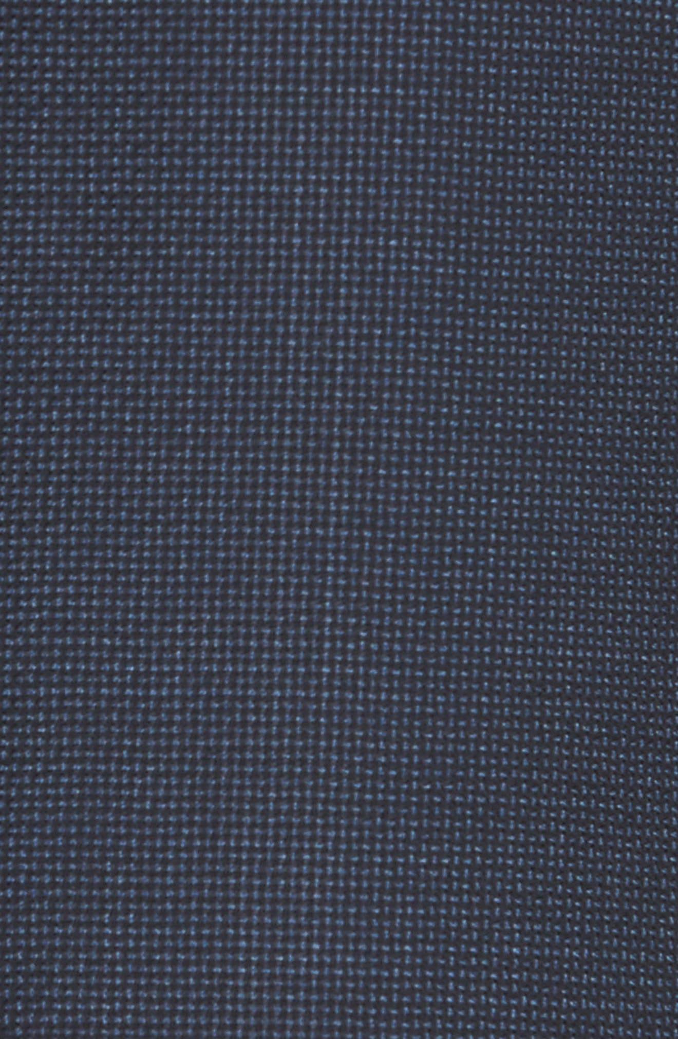 Traditional Fit Basket Weave Wool Sport Coat,                             Alternate thumbnail 5, color,                             Navy