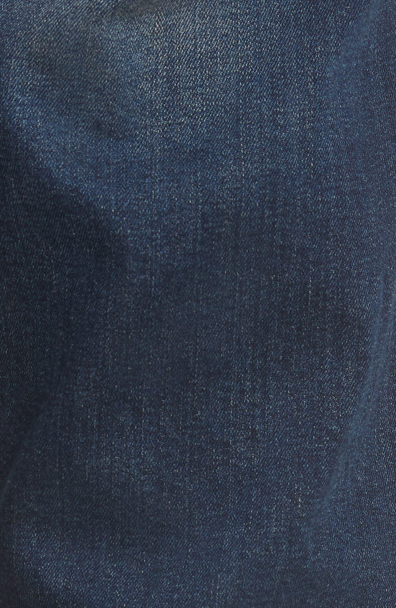 Delaware Slim Fit Jeans,                             Alternate thumbnail 5, color,                             Blue
