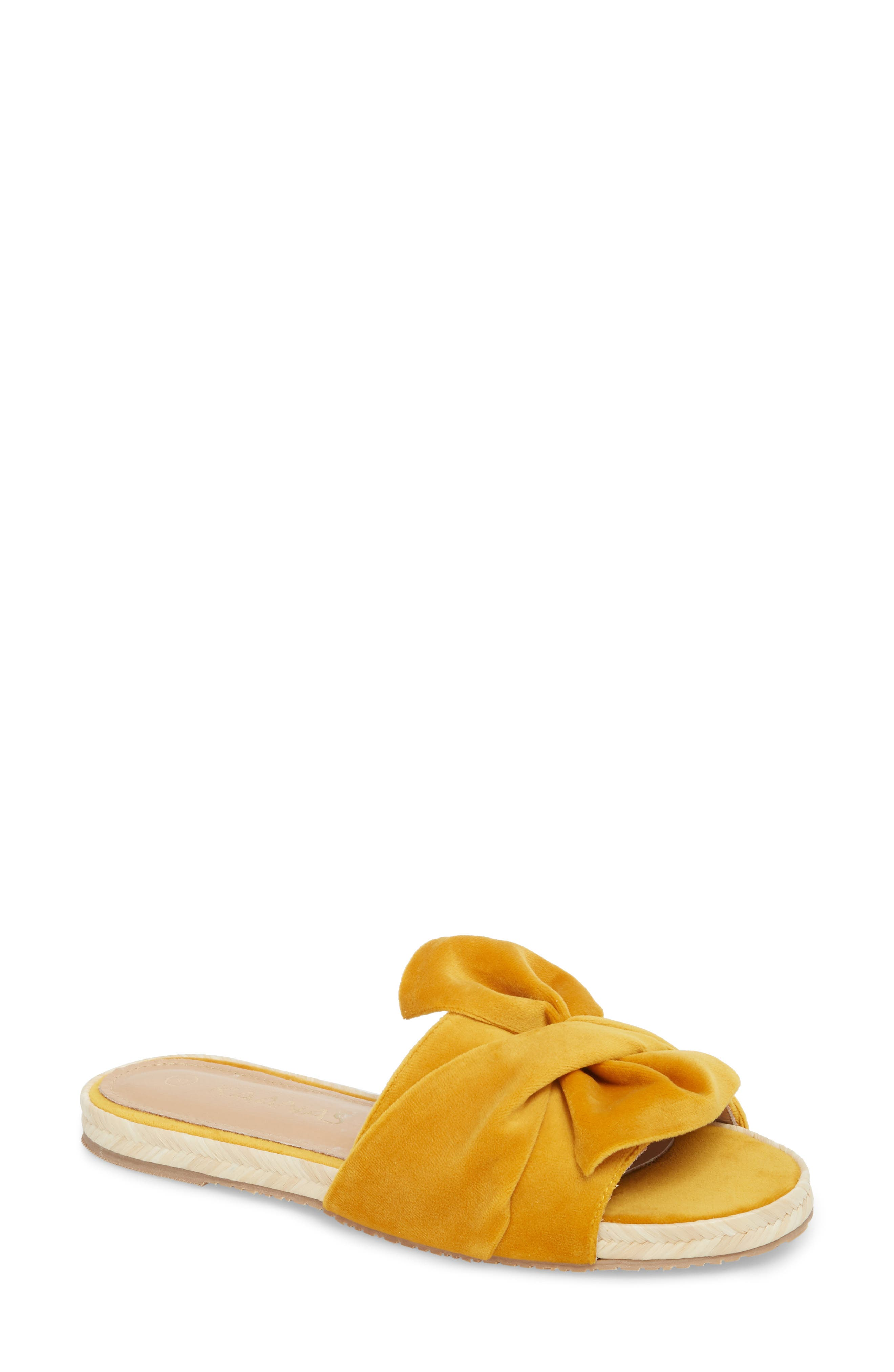 Kaanas Sausalito Knotted Slide Sandal (Women)