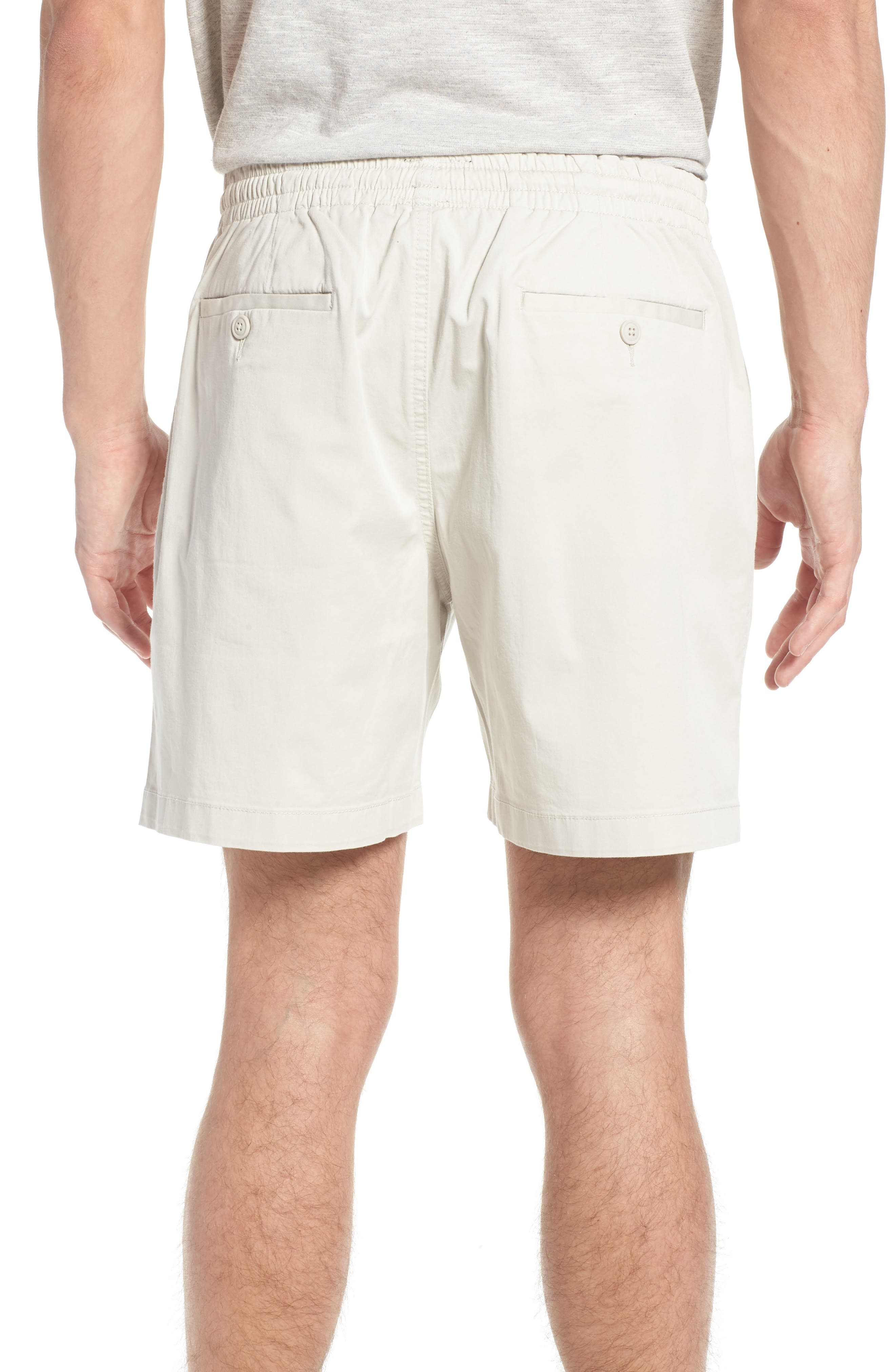Stretch Chino Dock Shorts,                             Alternate thumbnail 2, color,                             Stone