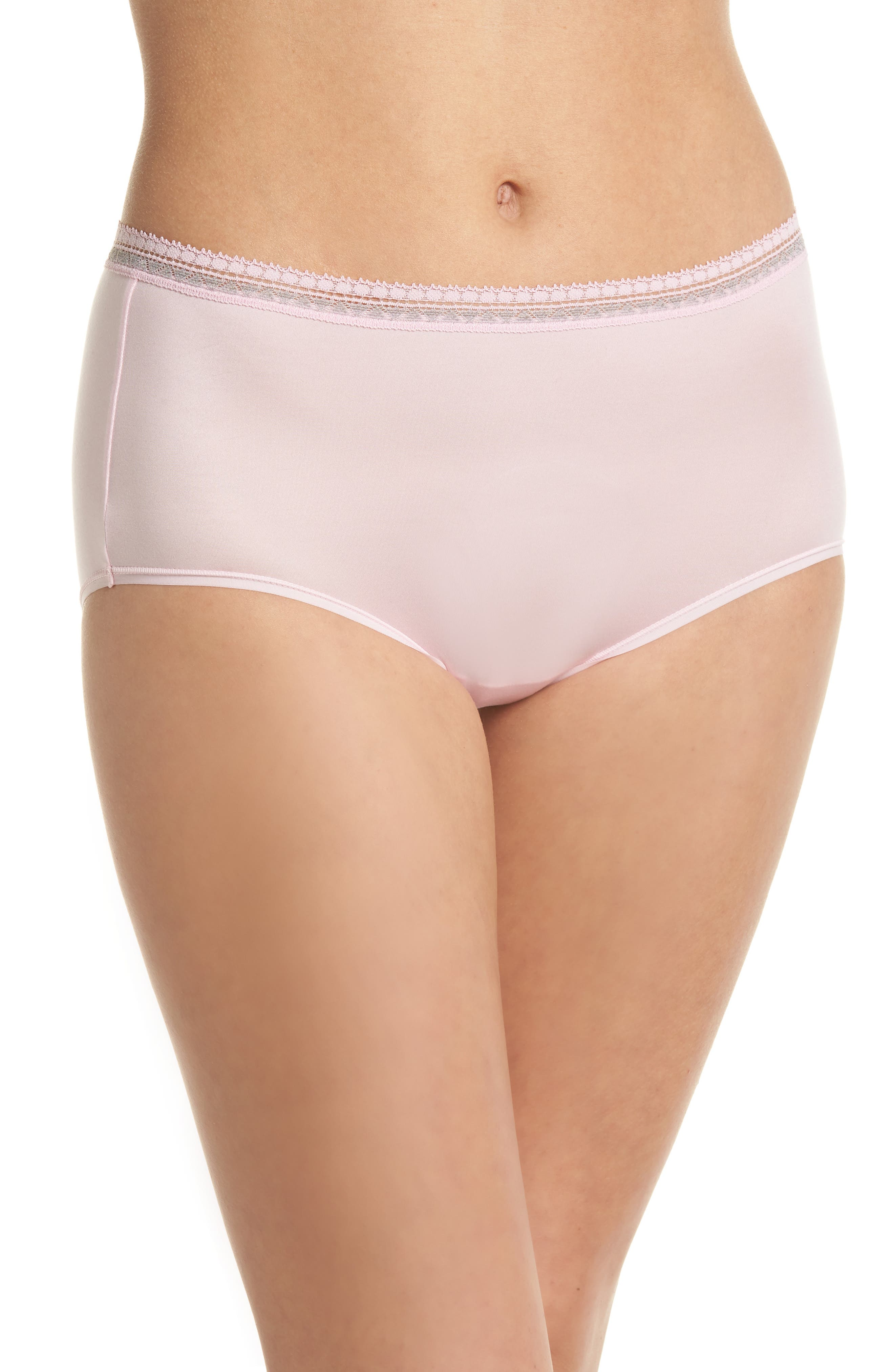 Perfect Primer Briefs,                             Main thumbnail 1, color,                             Pink Lady