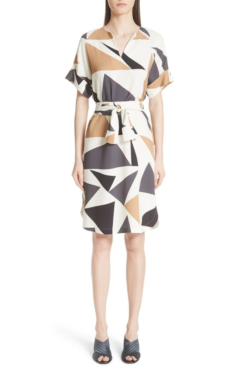 Jubilee Geometric Print Dress