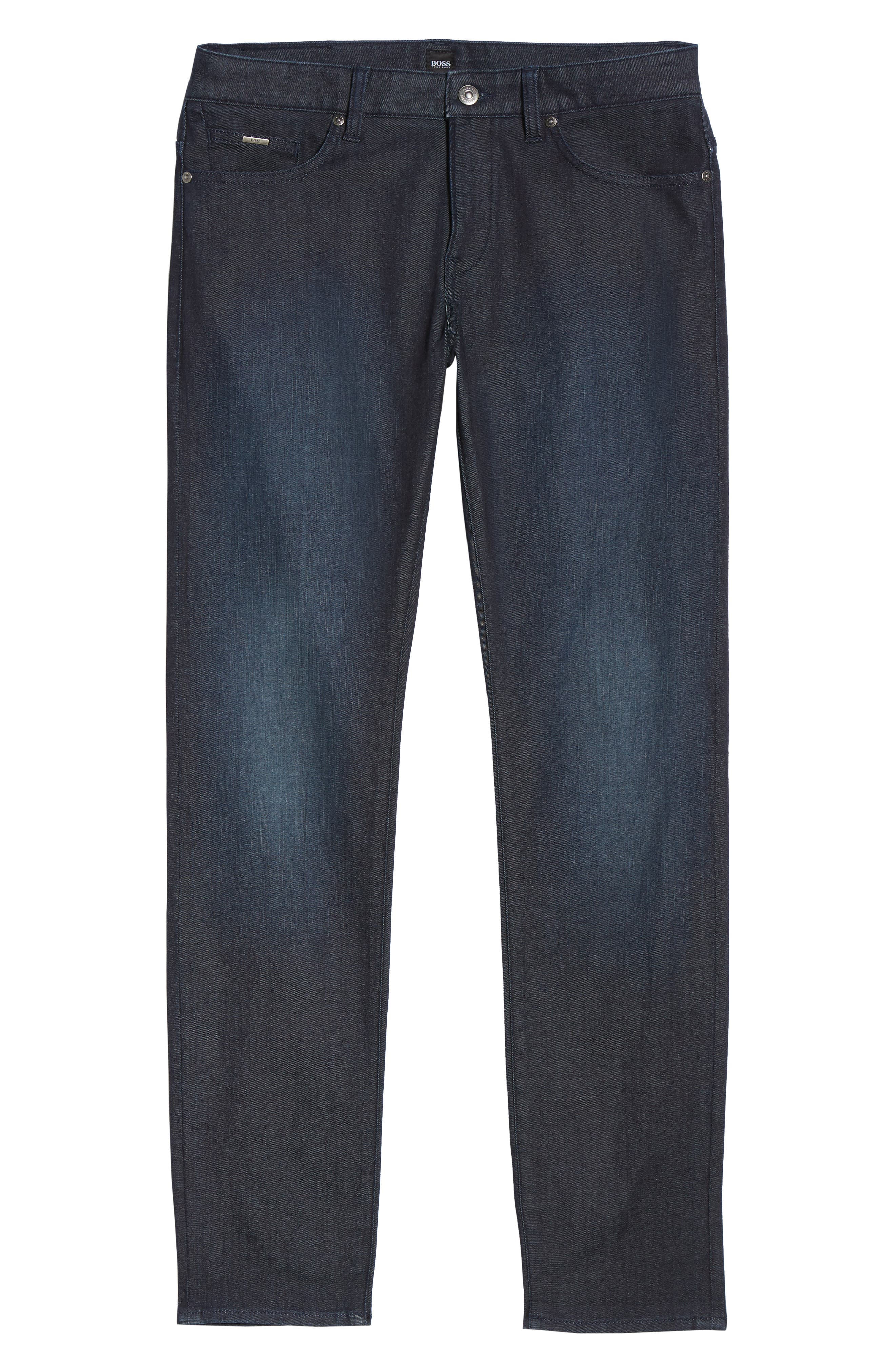 Delaware Slim Fit Jeans,                             Alternate thumbnail 6, color,                             Blue