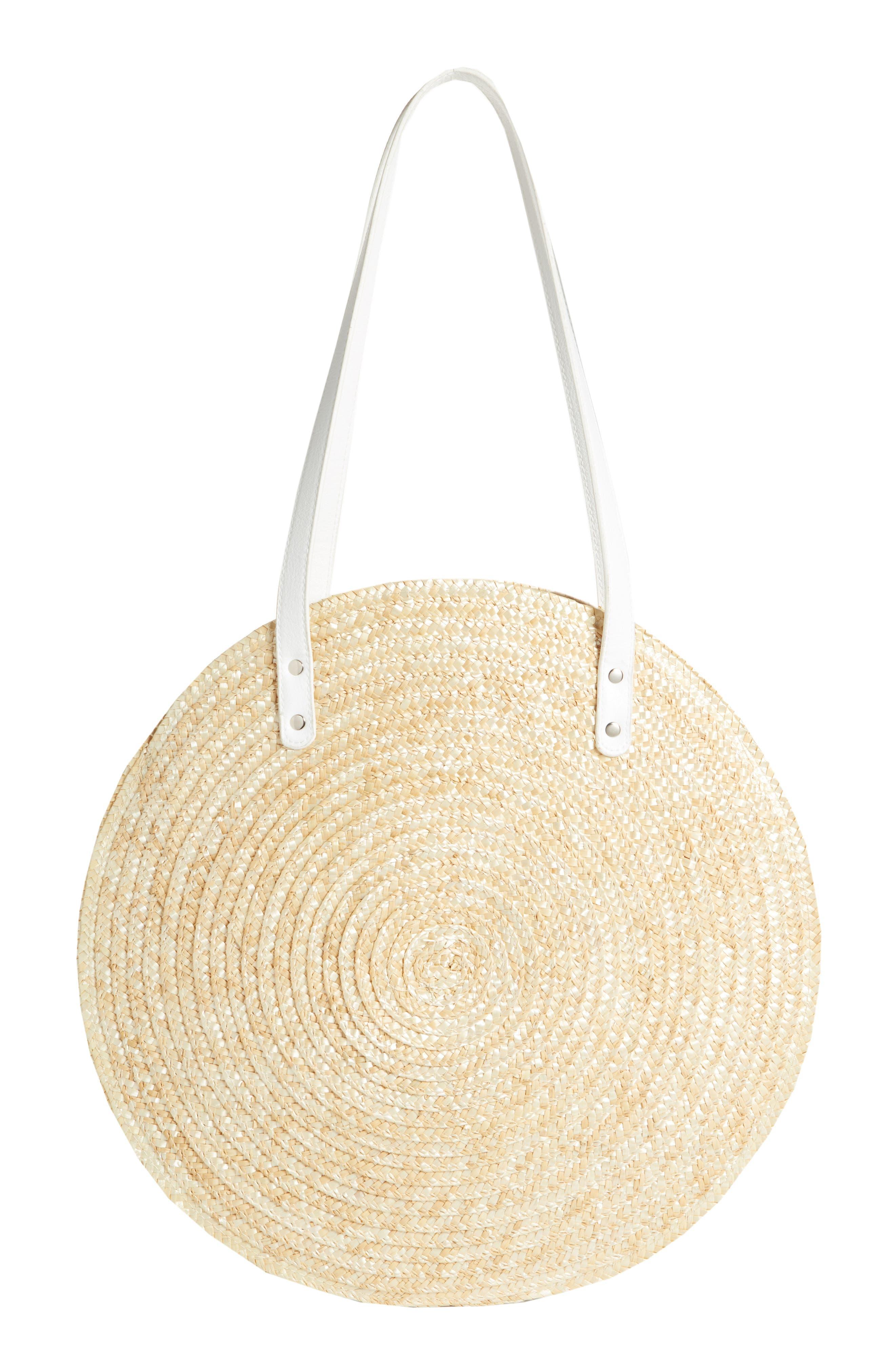 BP. Circle Basket Tote Bag