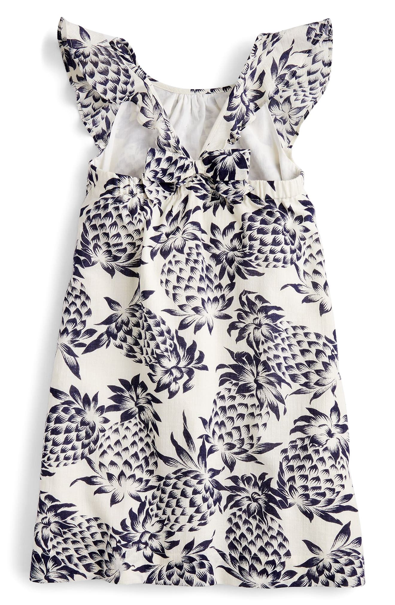 Maisie Pineapple Print Dress,                             Alternate thumbnail 2, color,                             Champagne Indigo