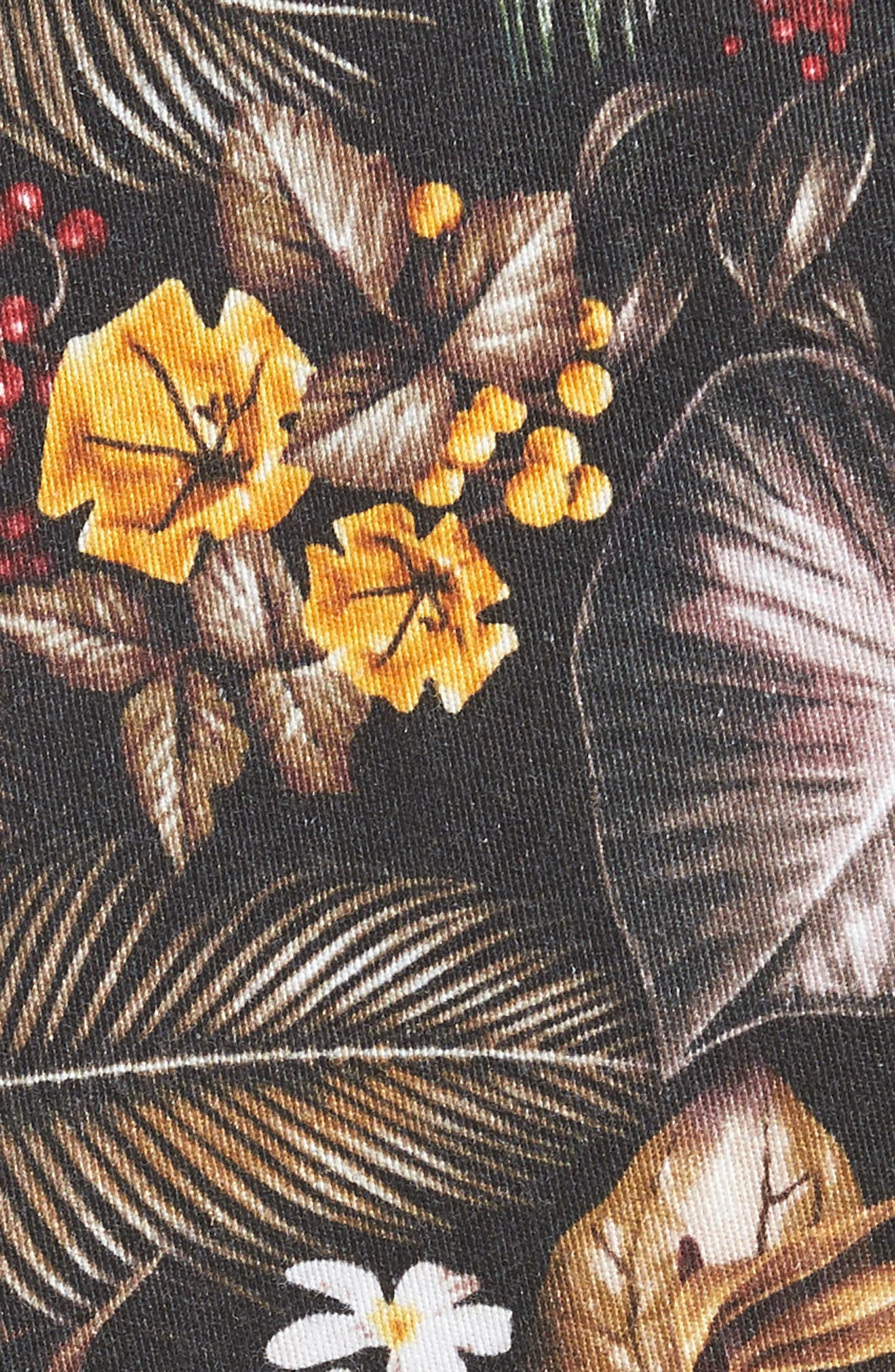 Maracas Woven Shorts,                             Alternate thumbnail 4, color,                             Multi