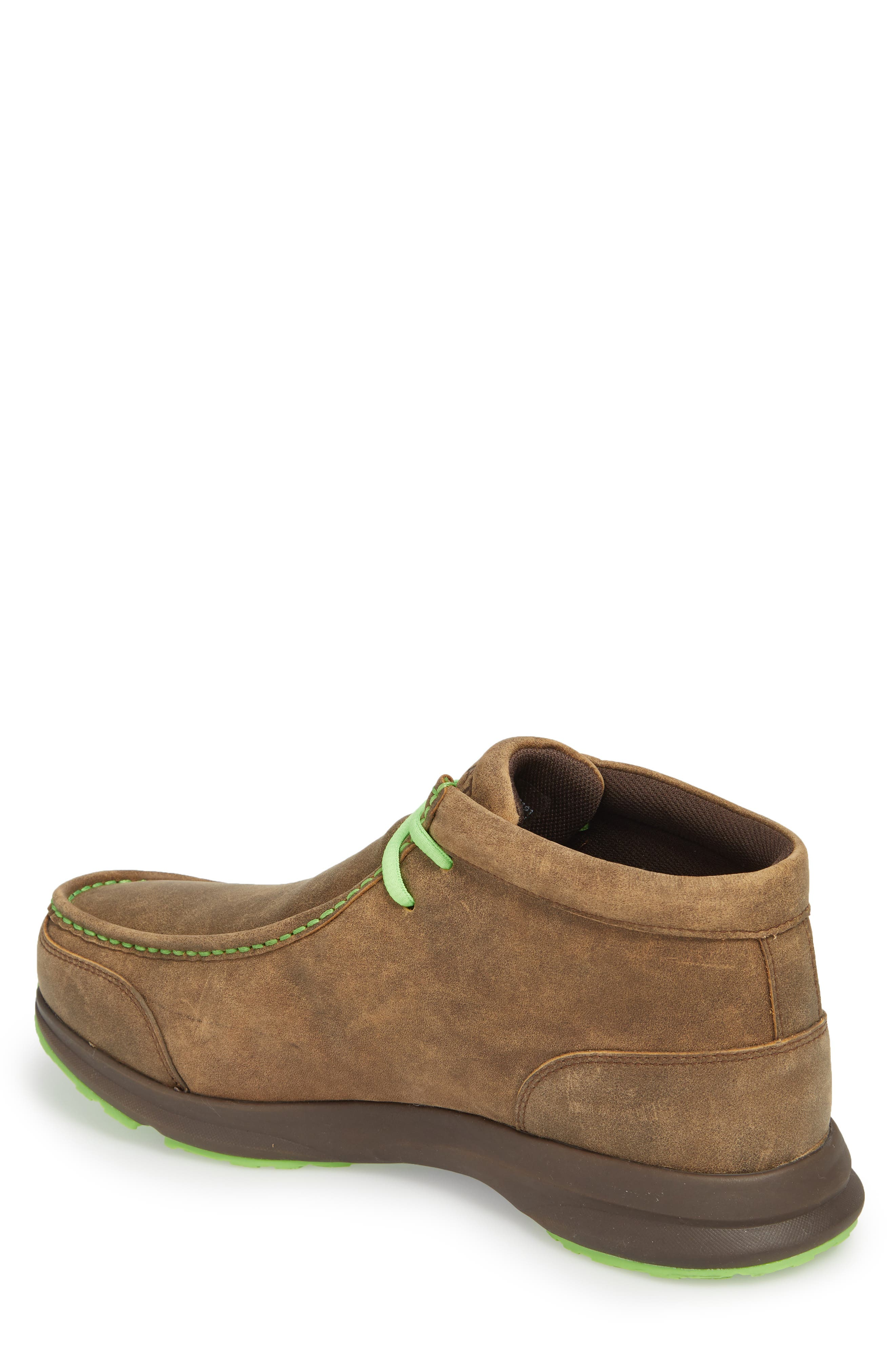 Spitfire Chukka Boot,                             Alternate thumbnail 2, color,                             Brown Bomber Leather