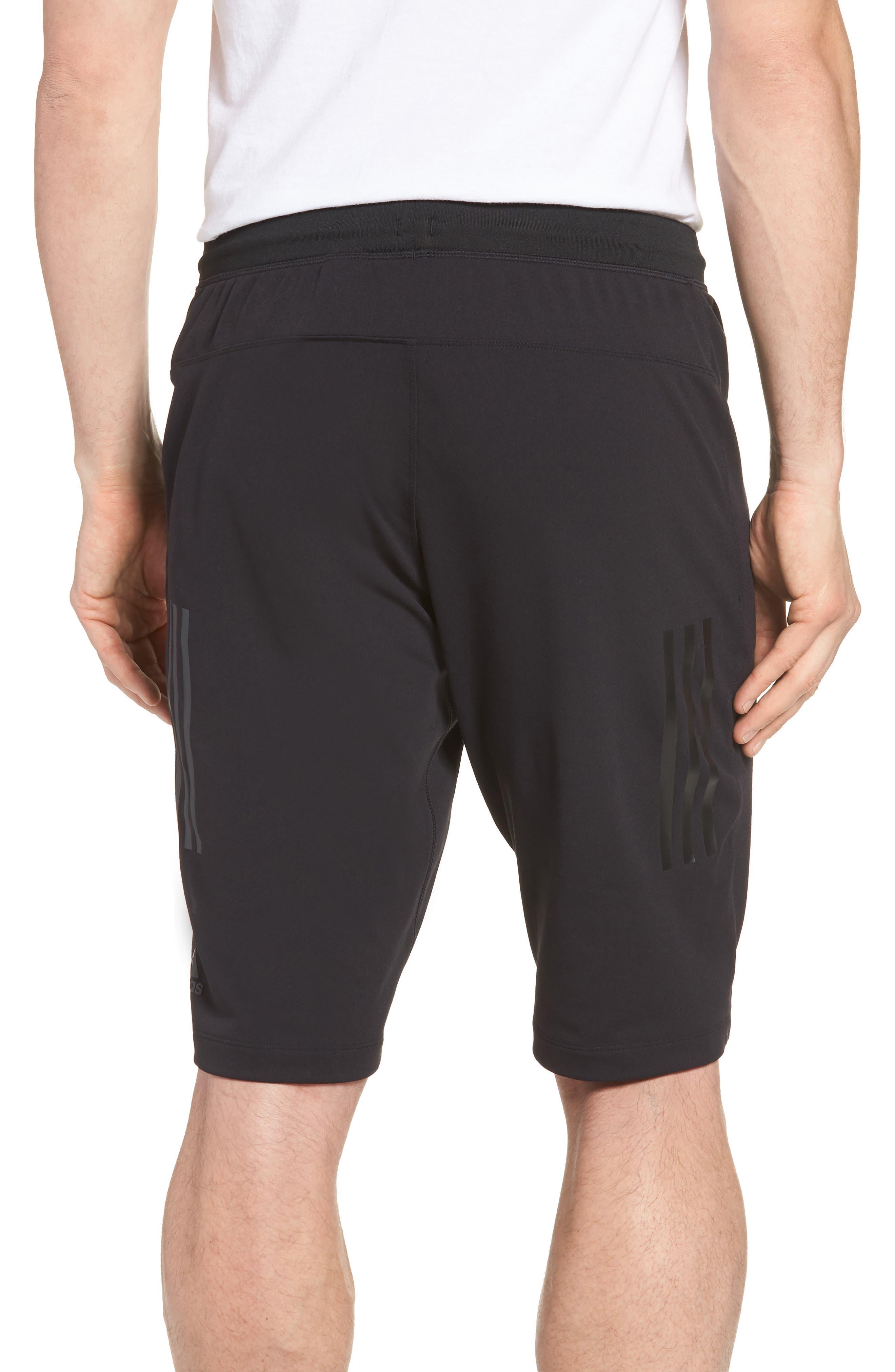 Ultimate Transitional Regular Fit Shorts,                             Alternate thumbnail 2, color,                             Black