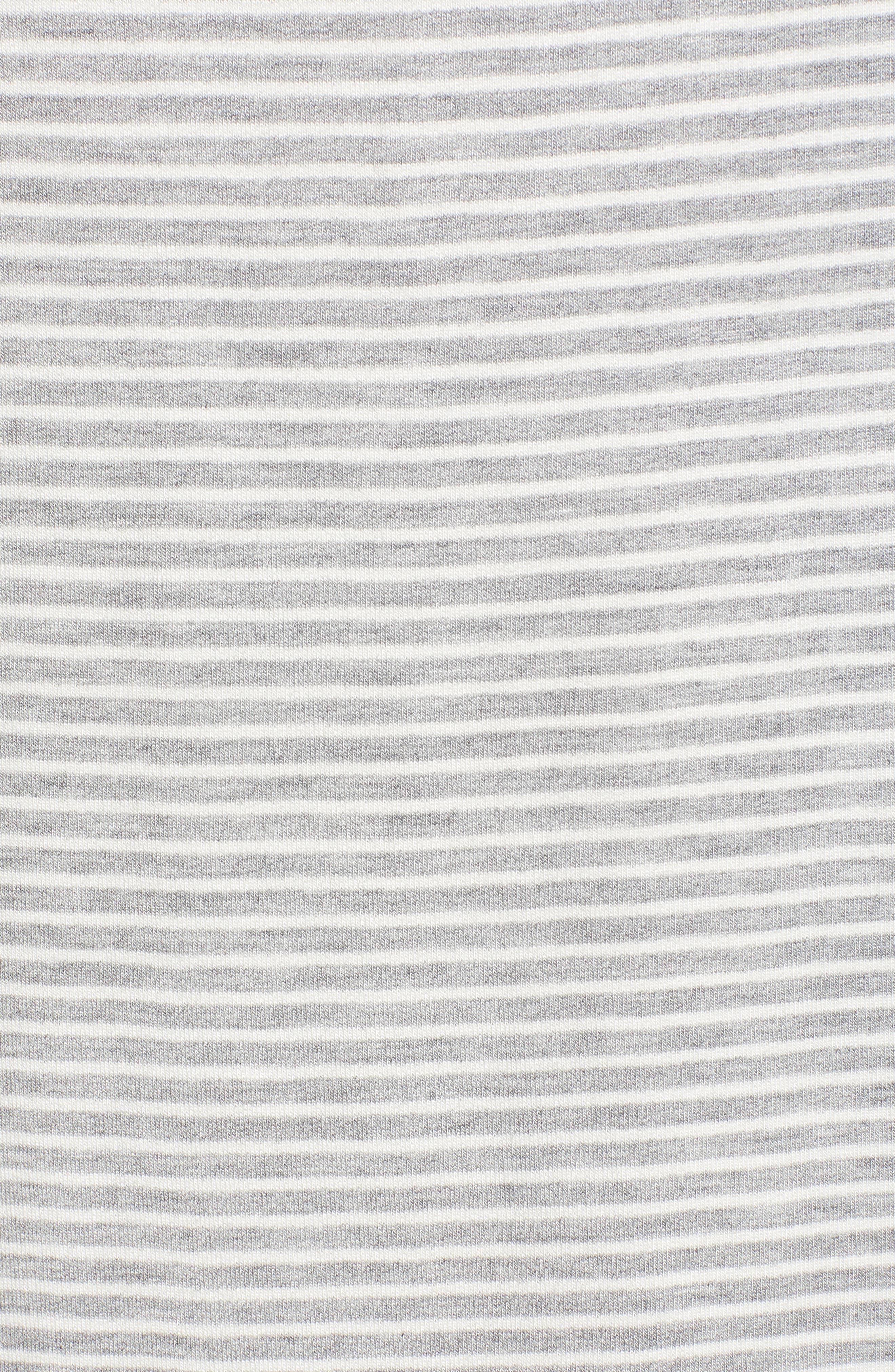 Dedrick Stripe Shift Dress,                             Alternate thumbnail 3, color,                             Light H. Grey