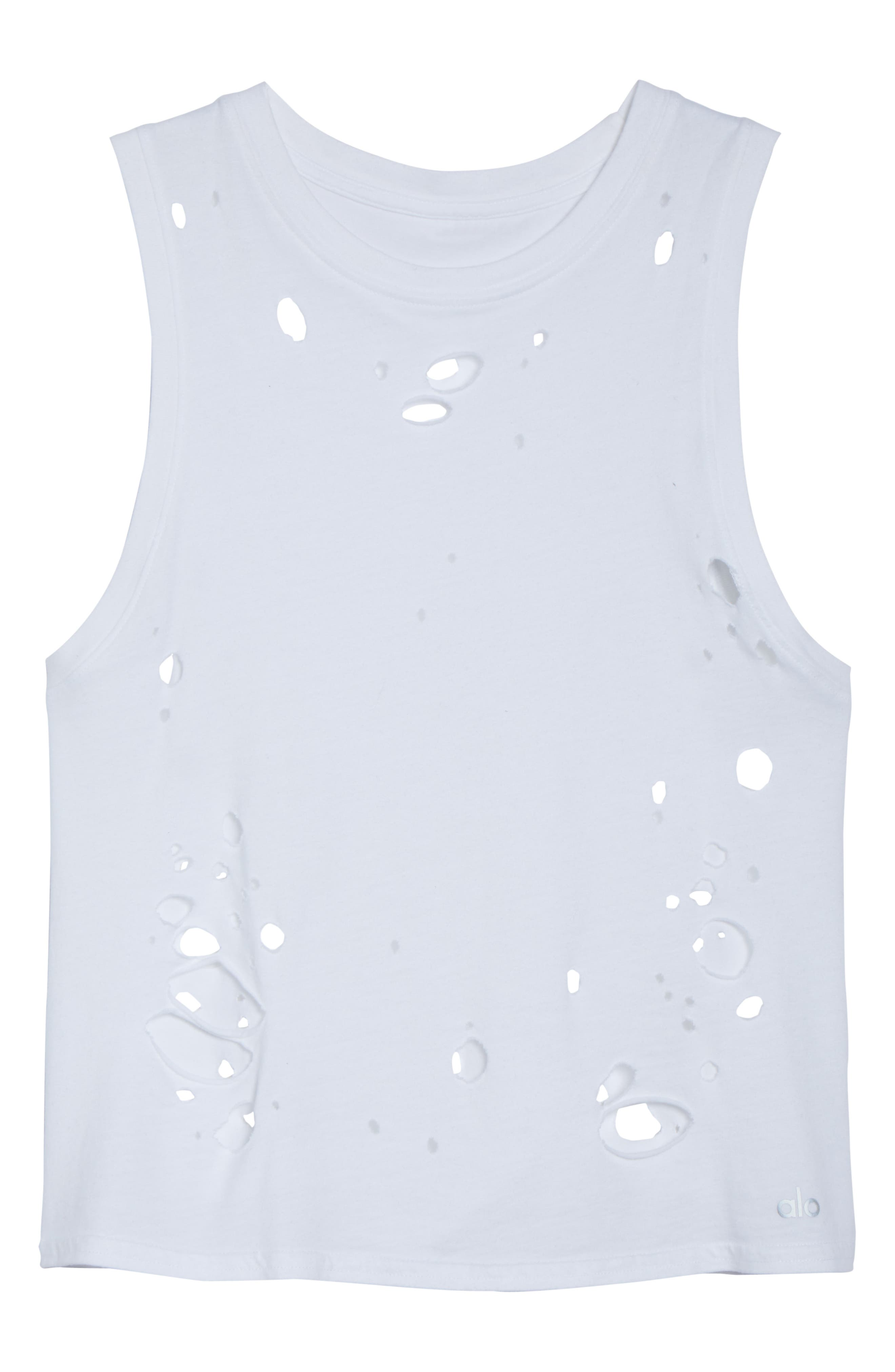 Harley Muscle Tank,                             Alternate thumbnail 7, color,                             White