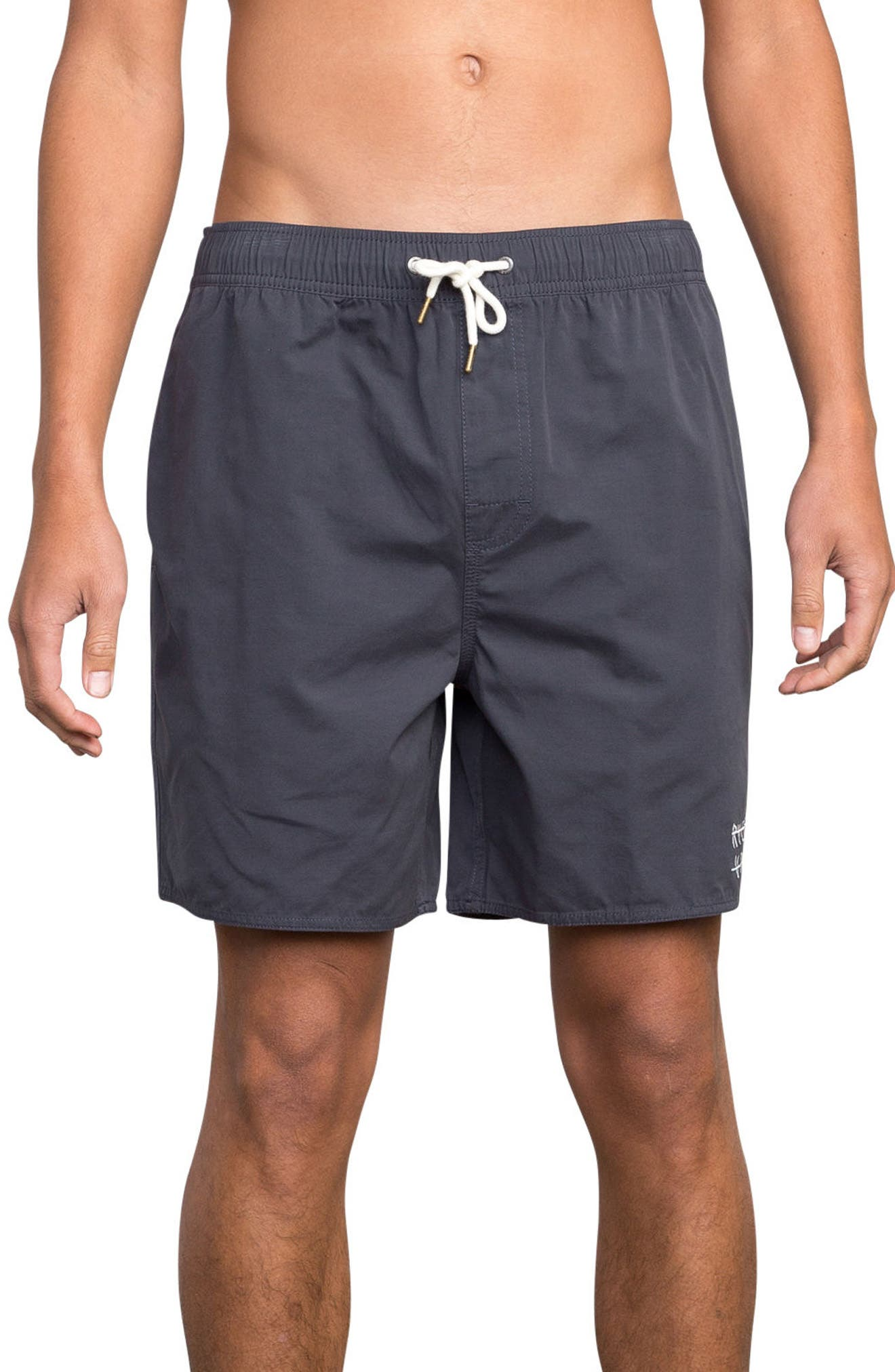 Horton Swim Trunks,                             Main thumbnail 1, color,                             Slate