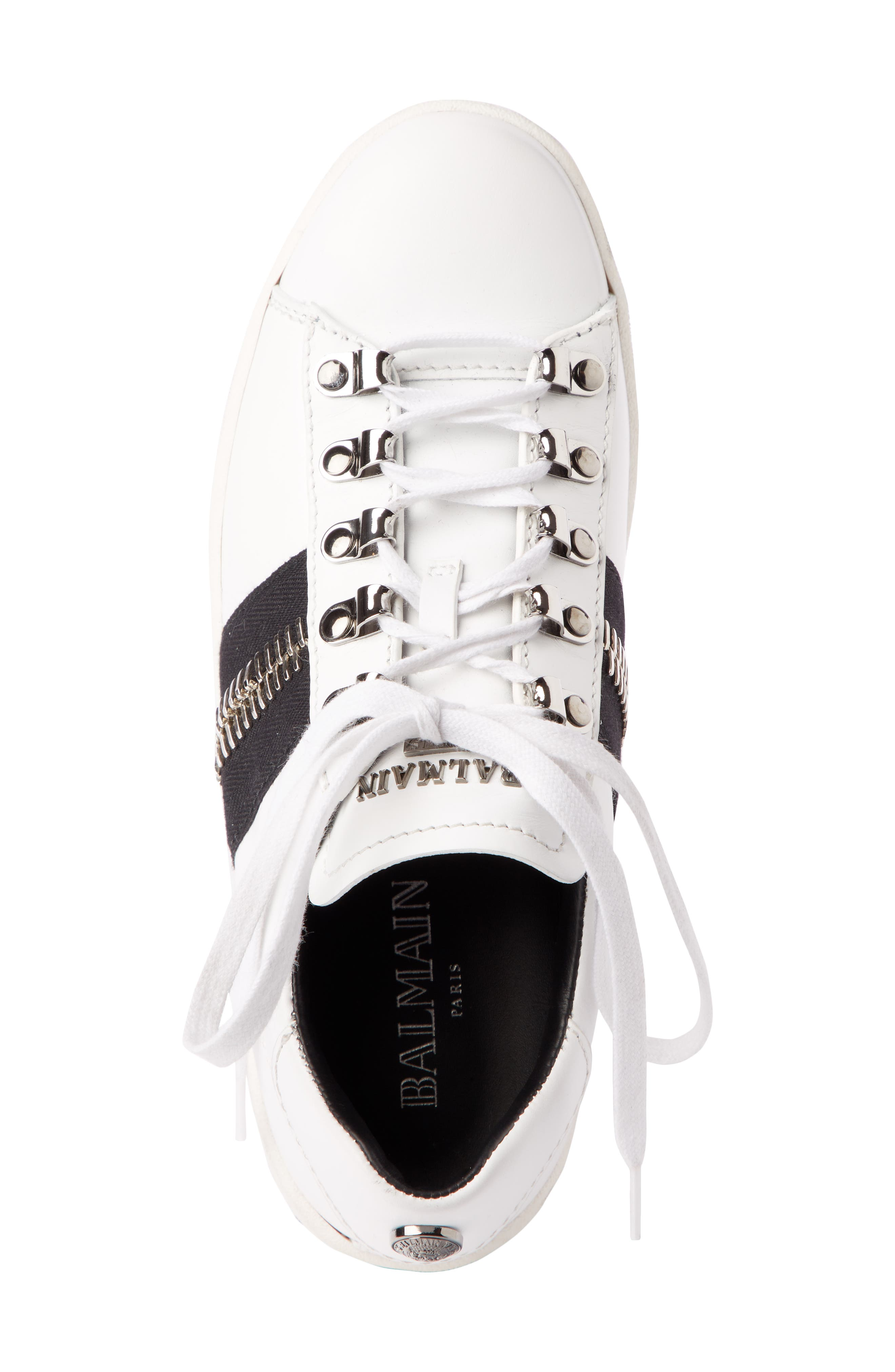 Esther Low Top Sneaker,                             Alternate thumbnail 3, color,                             White