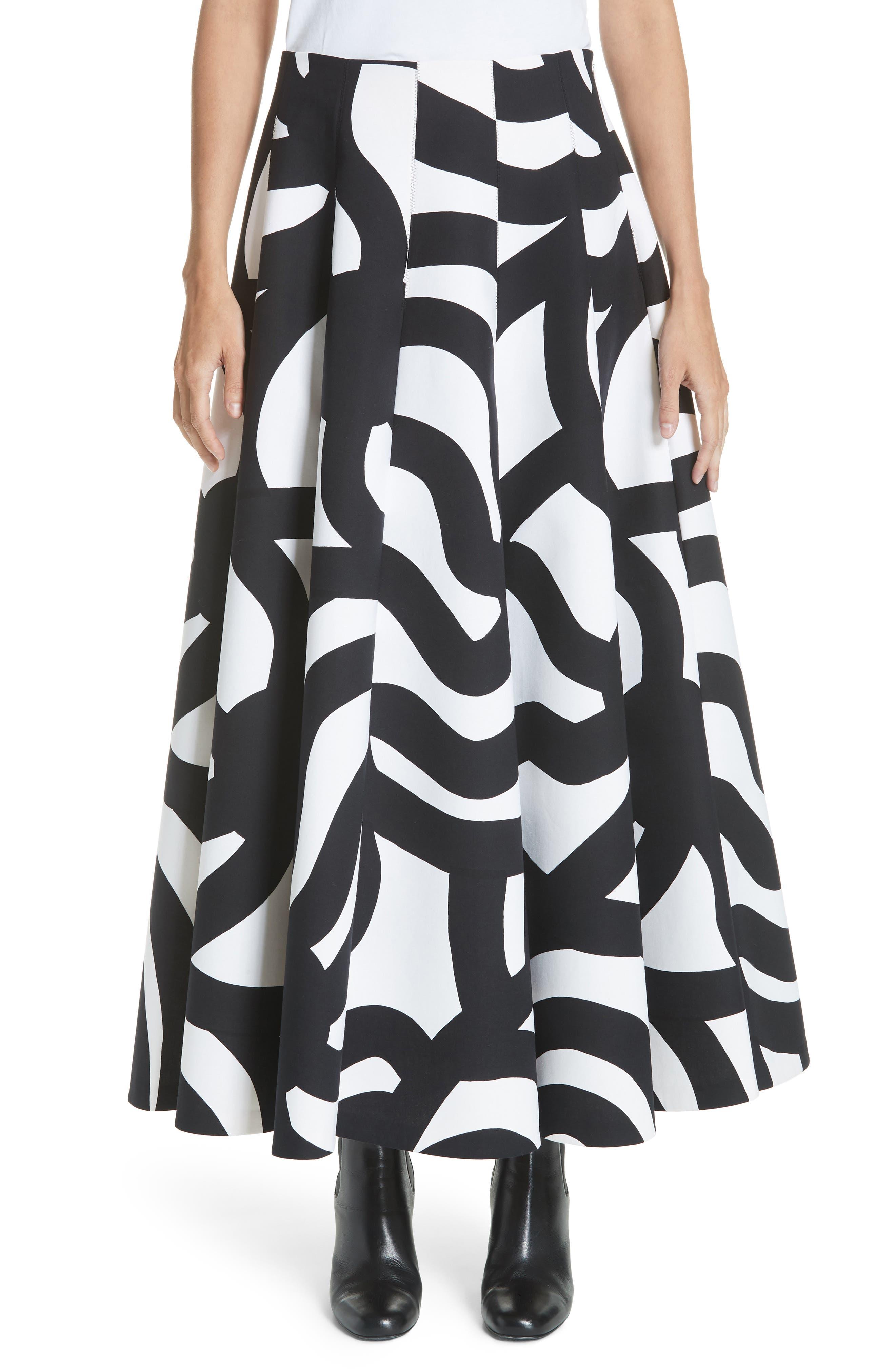 Junya Watanabe Swirl Skirt