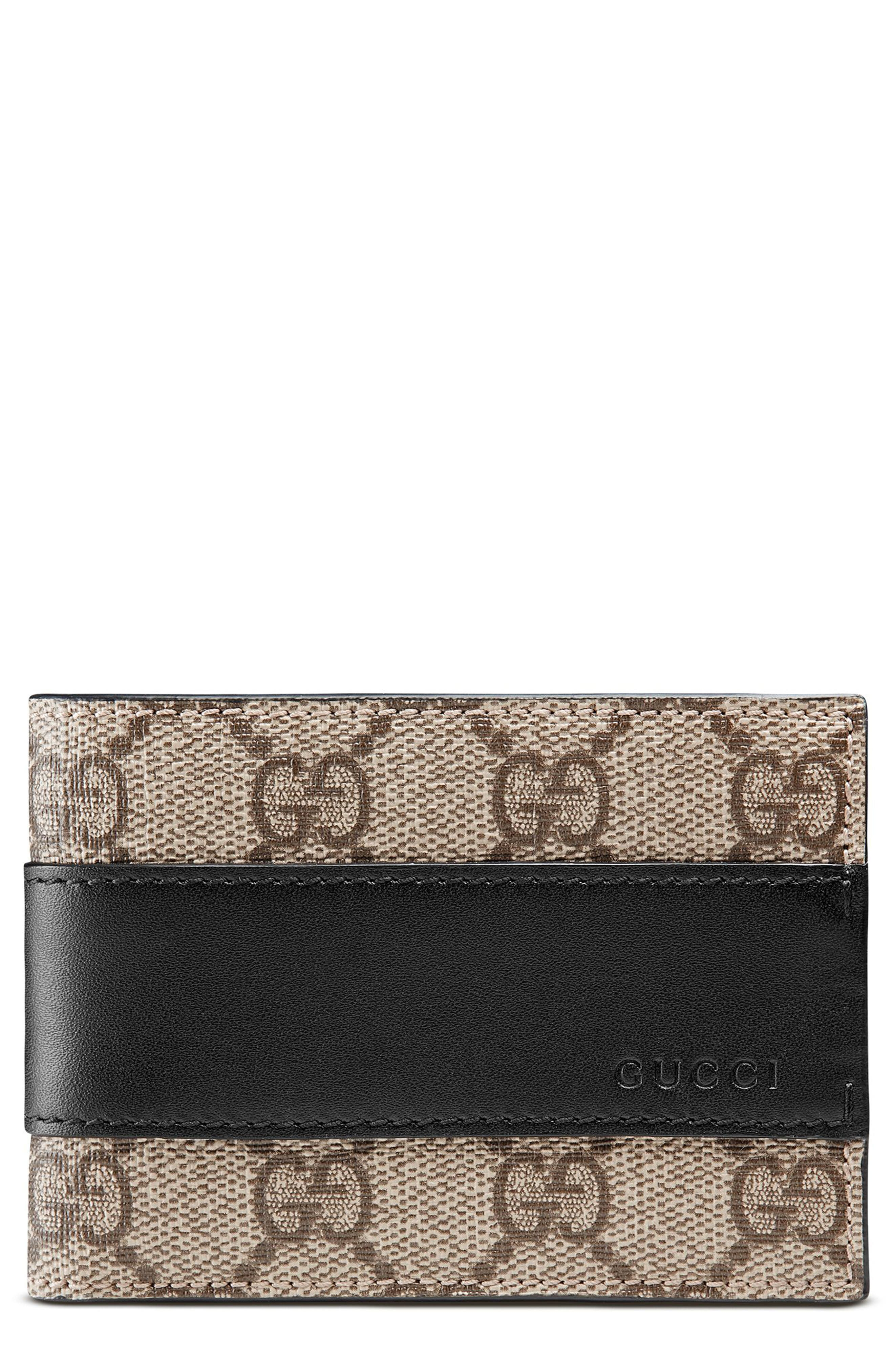 Gucci GG Supreme Canvas Wallet