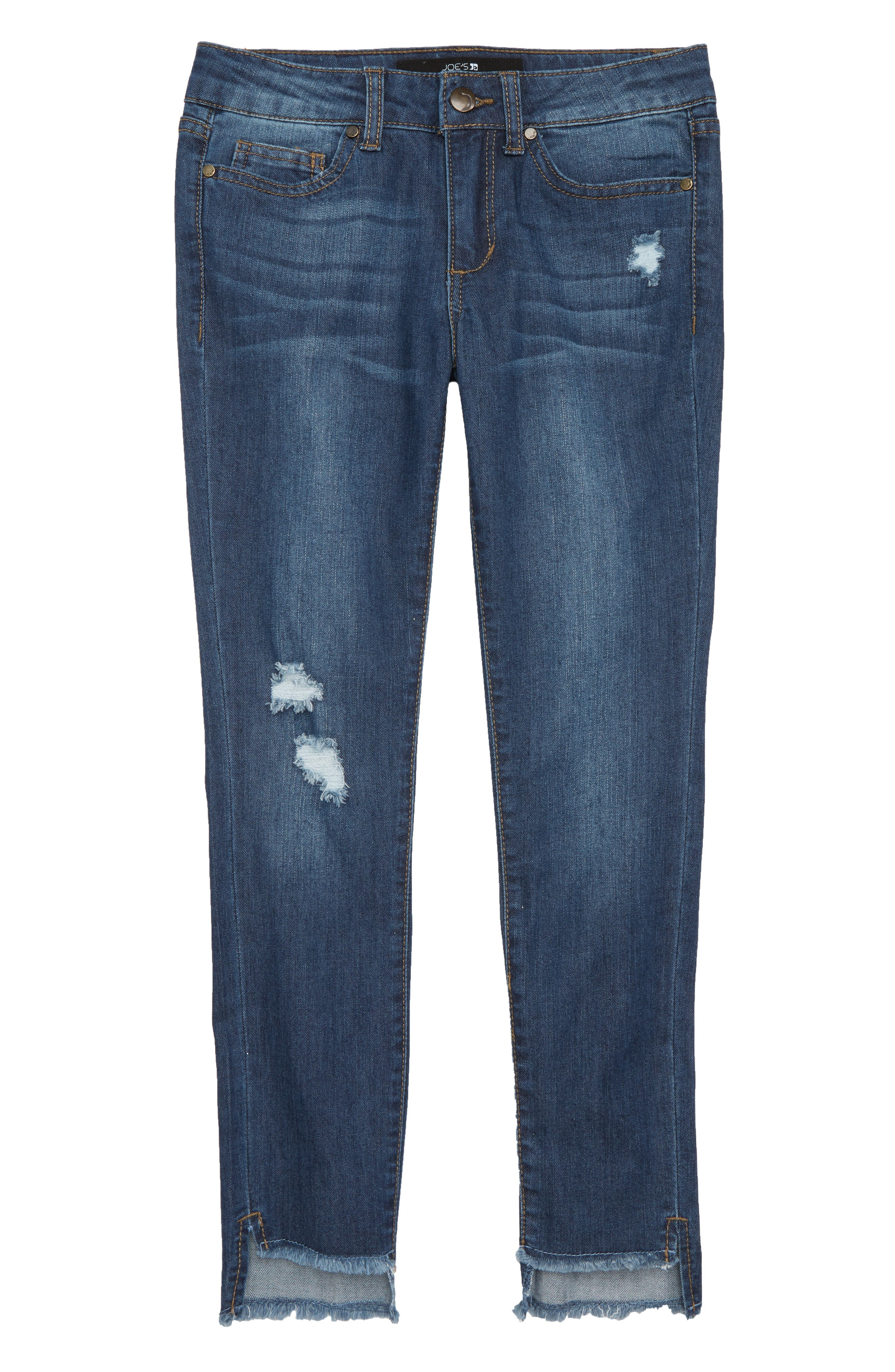 Joe's Fray Hem Skinny Jeans (Big Girls)