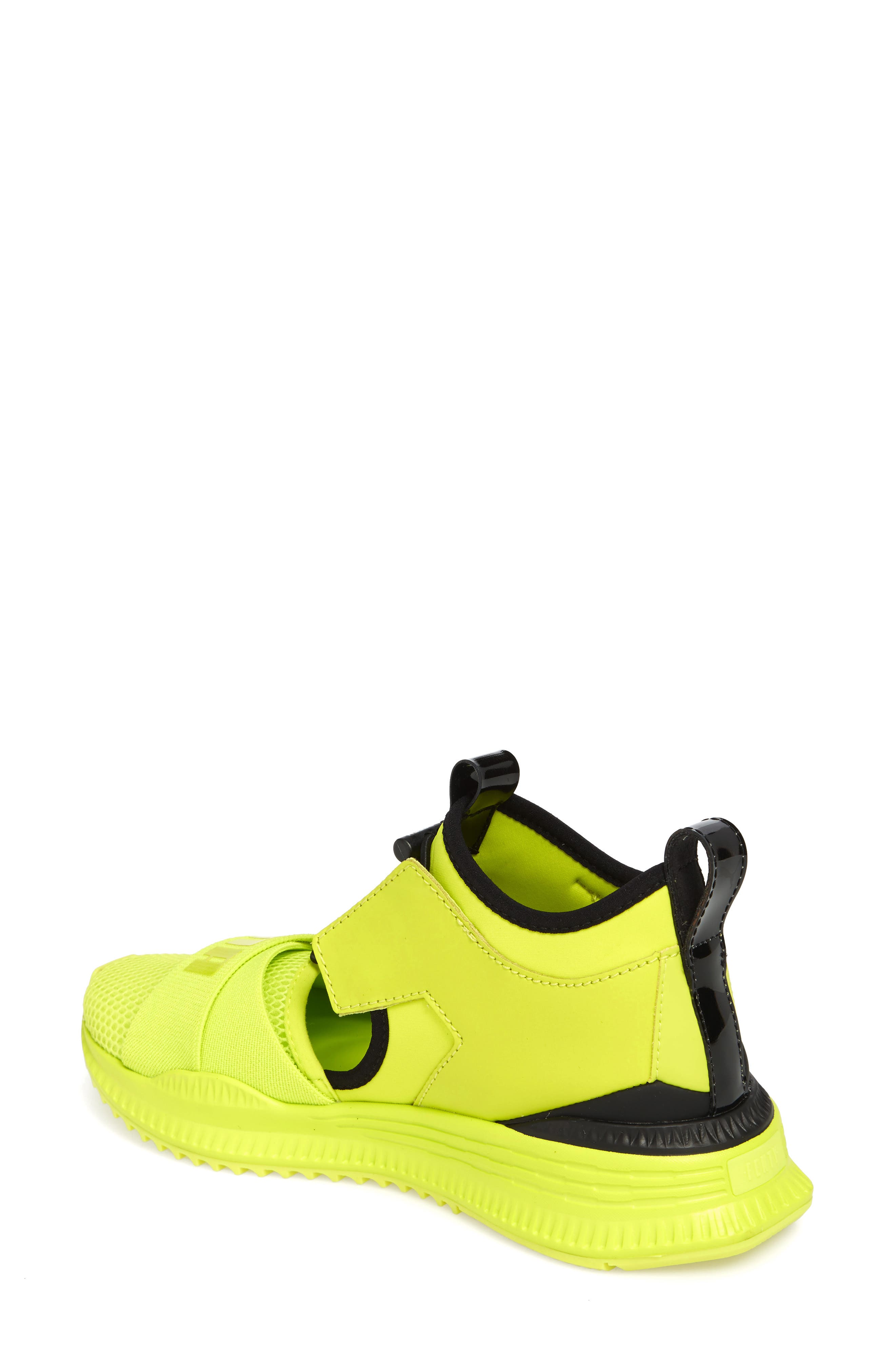 FENTY PUMA by Rihanna Avid Sneaker,                             Alternate thumbnail 2, color,                             Lime Punch/ Black/ Lime Punch