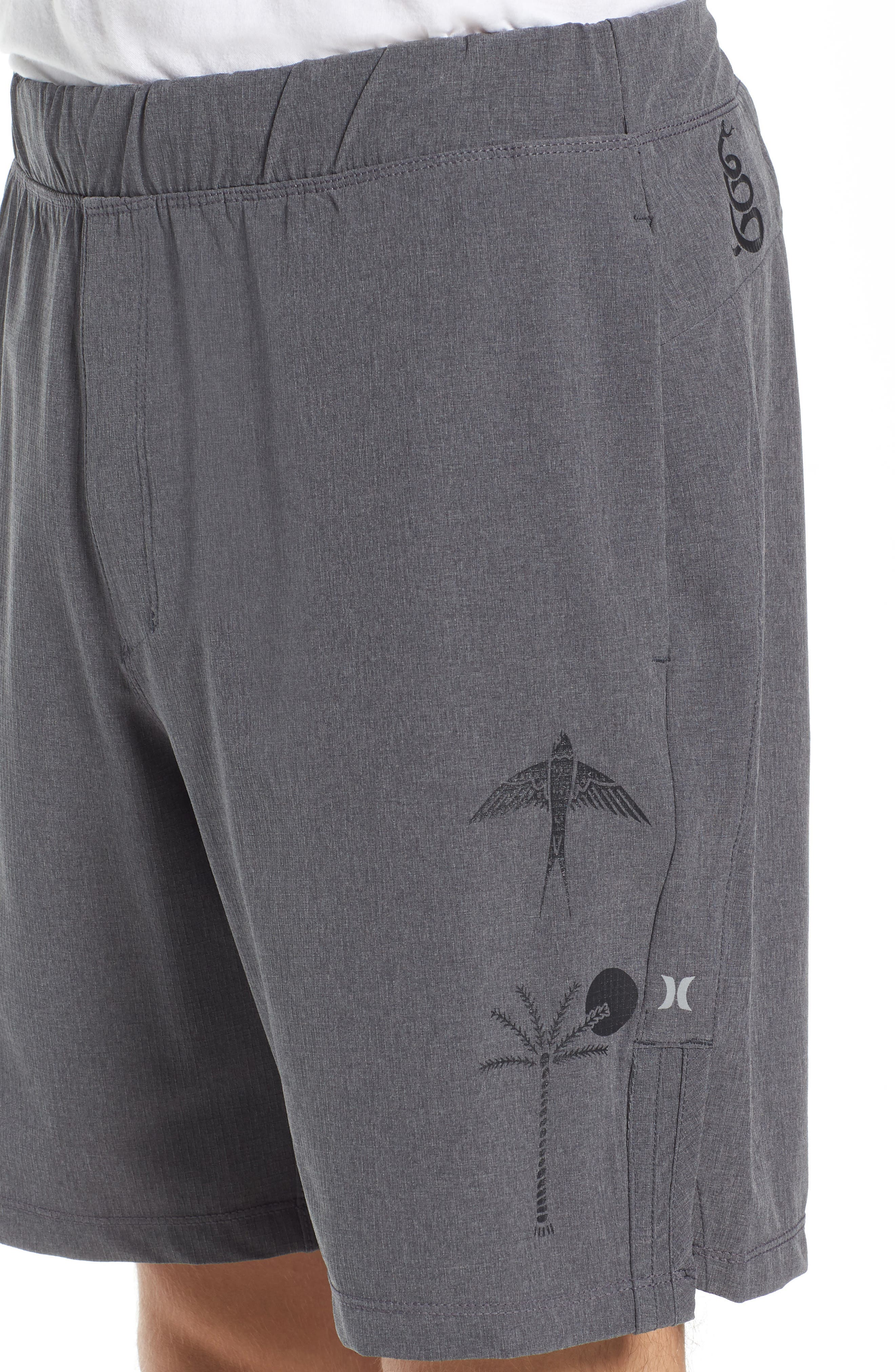 Alpha Trainer K-38 Shorts,                             Alternate thumbnail 4, color,                             Black