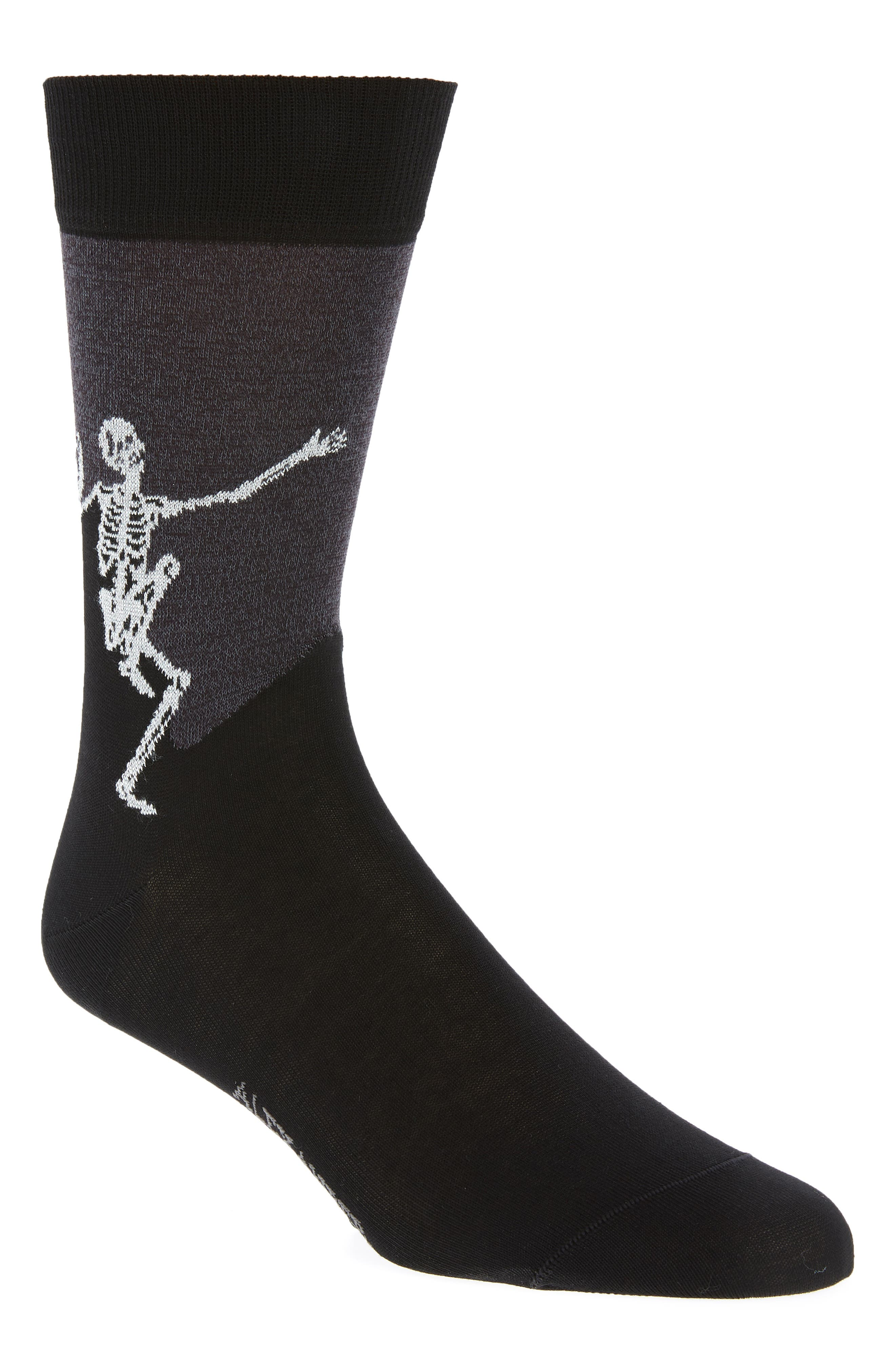 Free Shipping Collections Black and Grey Dancing Skeleton Socks Alexander McQueen Cheap Purchase Huge Range Of 2018 For Sale A2EFNhAu
