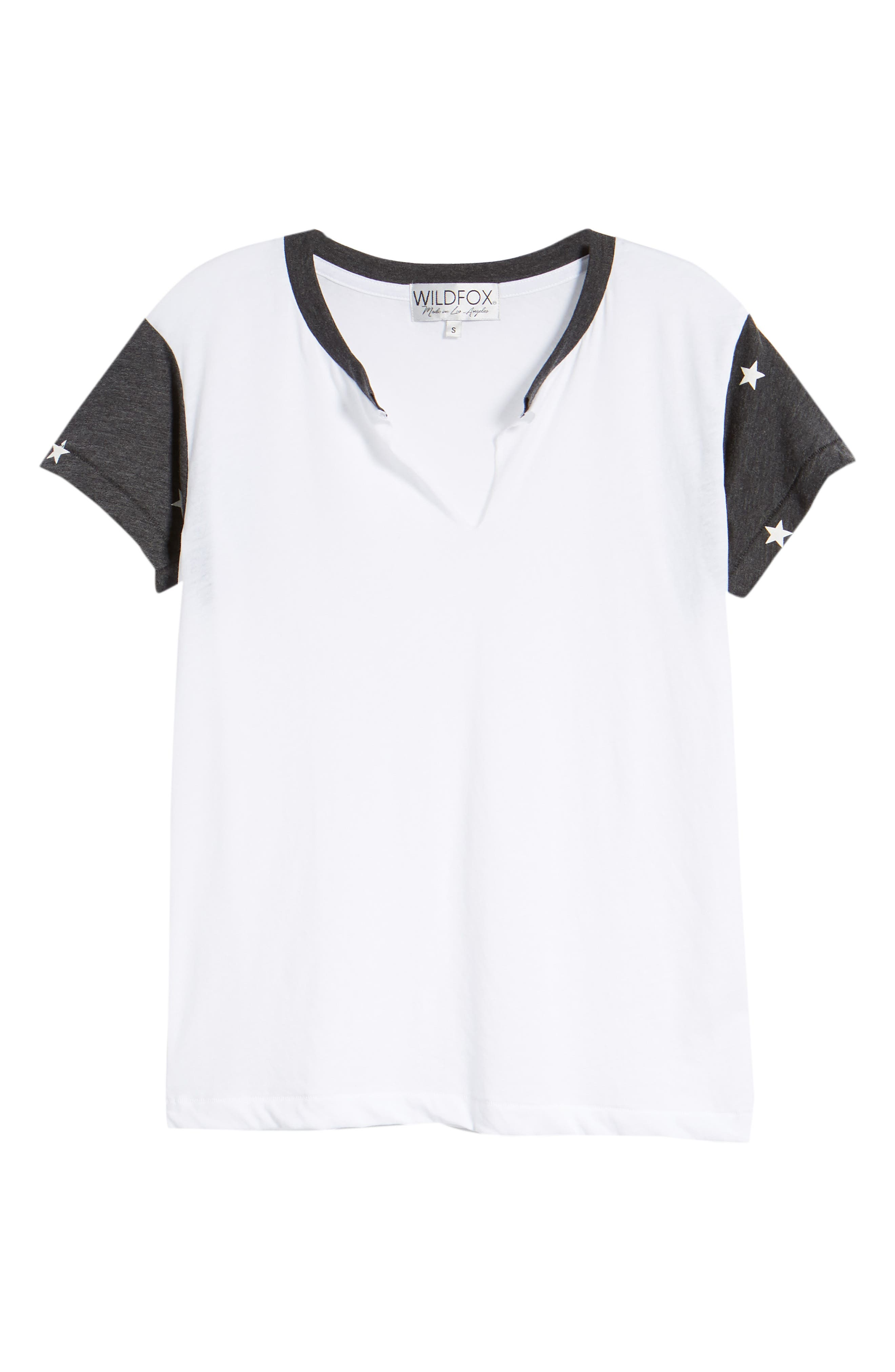 Football Star Woody Tee,                             Alternate thumbnail 7, color,                             Clean White / Clean Black