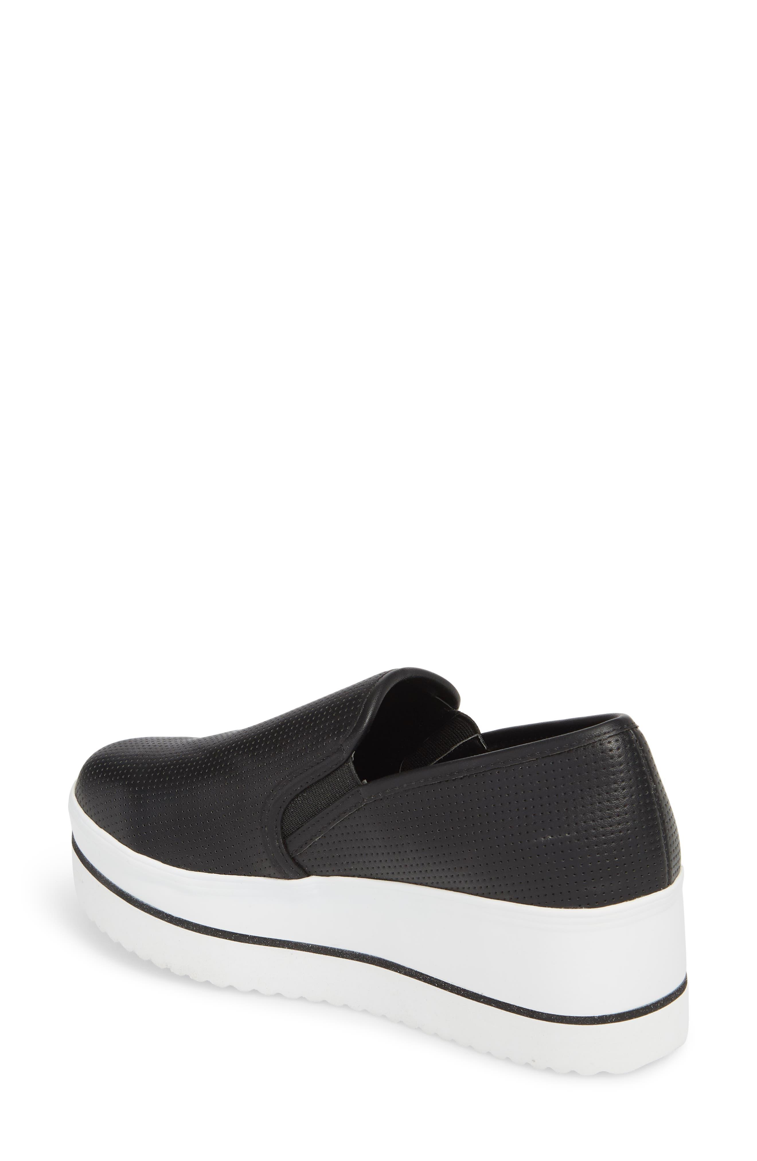 Becca Slip-On Sneaker,                             Alternate thumbnail 2, color,                             Black