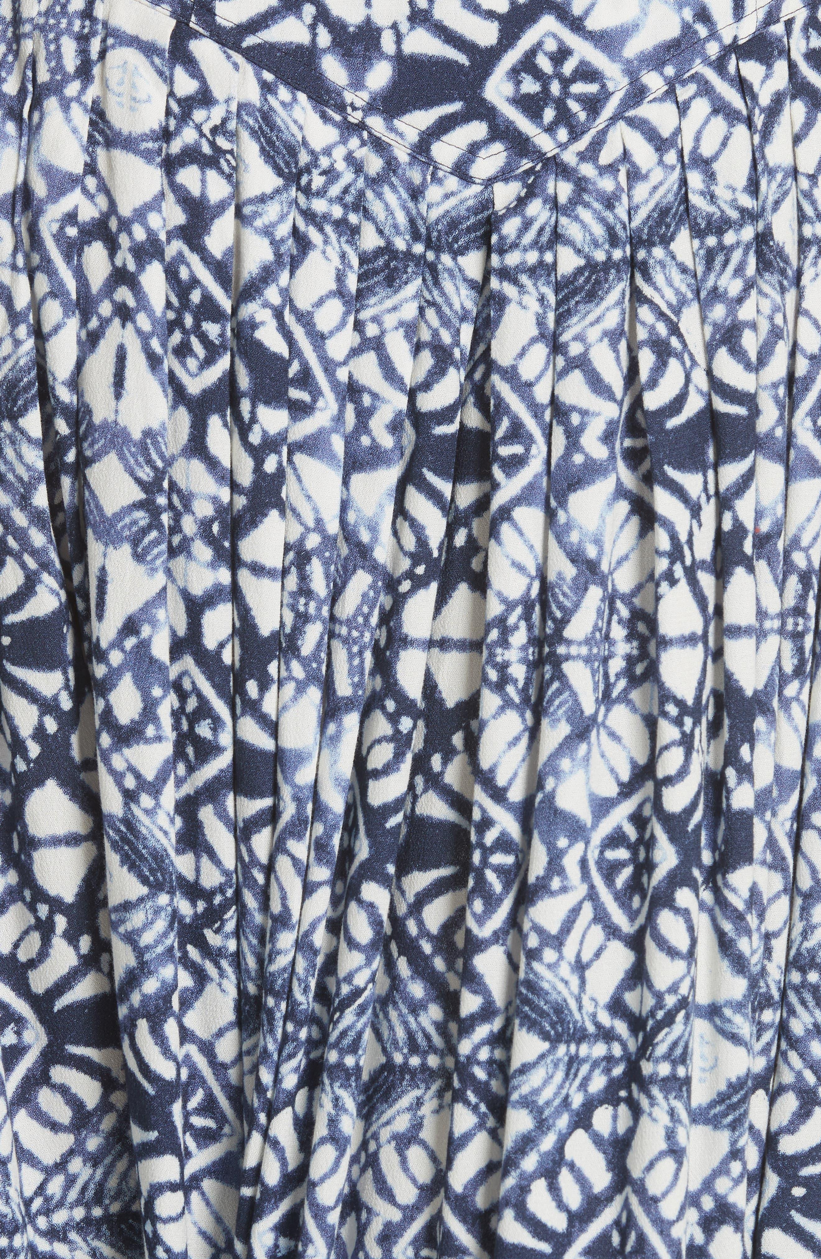 Lovers Dream Midi Skirt,                             Alternate thumbnail 5, color,                             Black